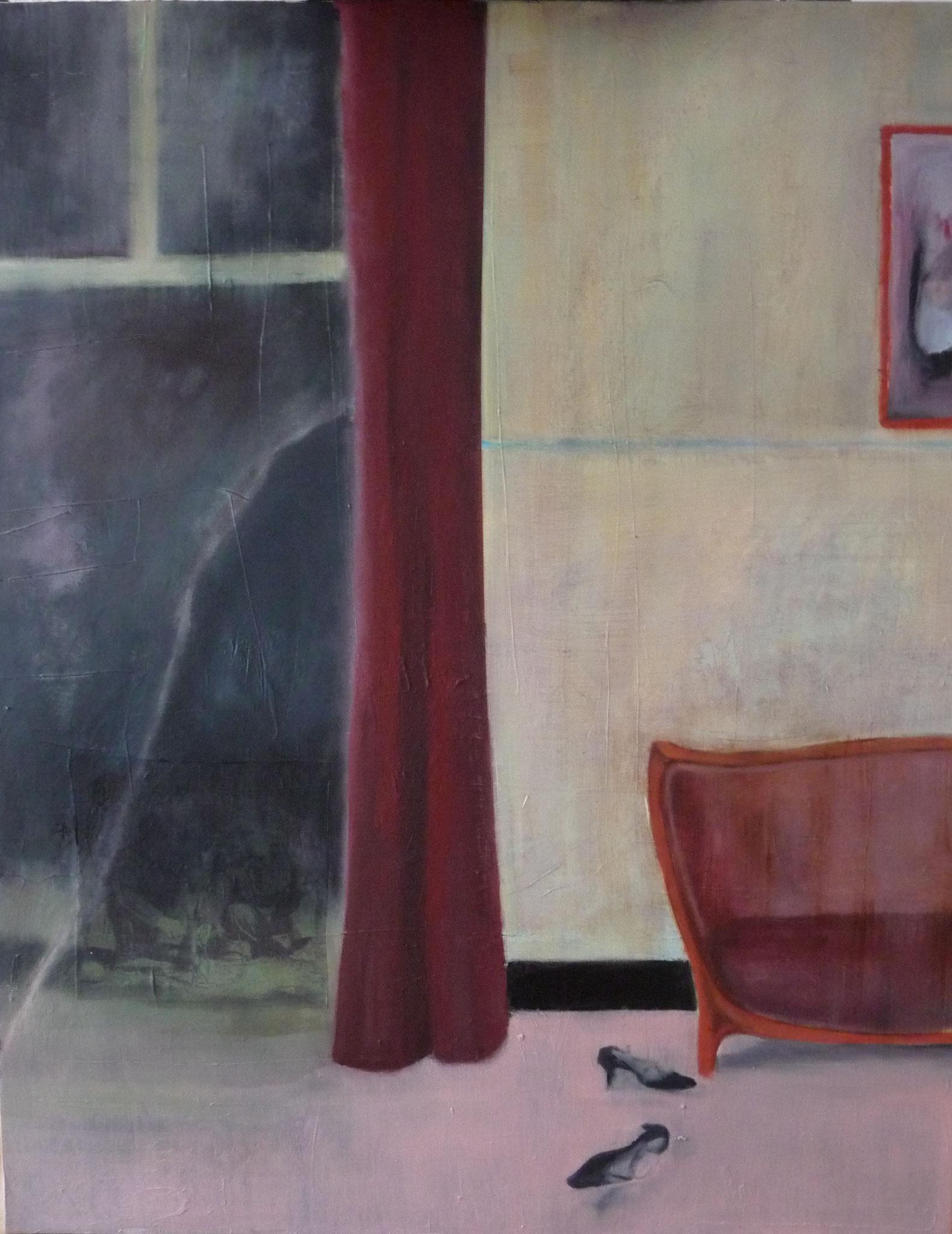 Réminescence   ---   2013 - Huile sur toile - 90 x 60 cm