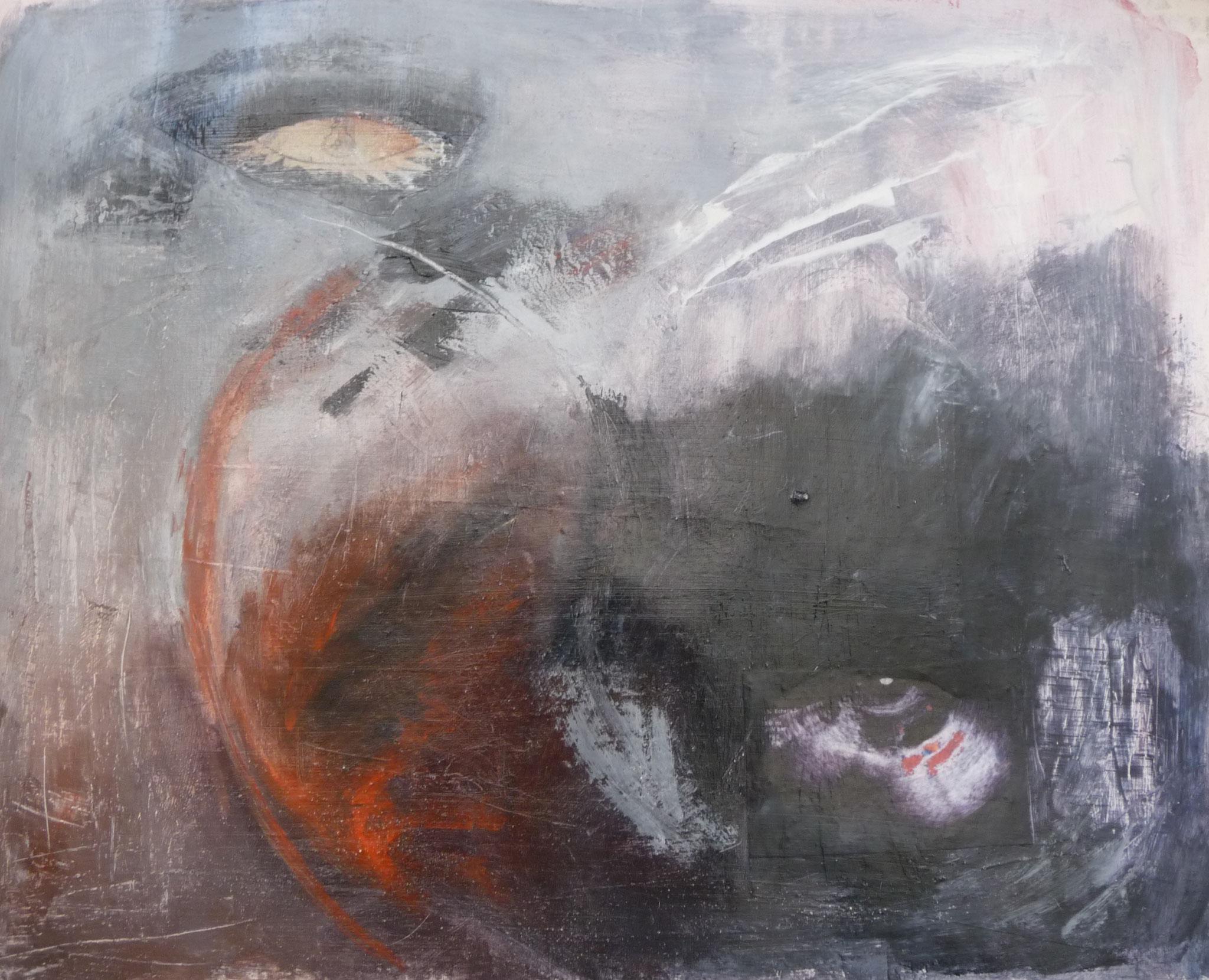 Planche de mémoire 3   ---   2010 - Acrylique - 45 x 60 cm