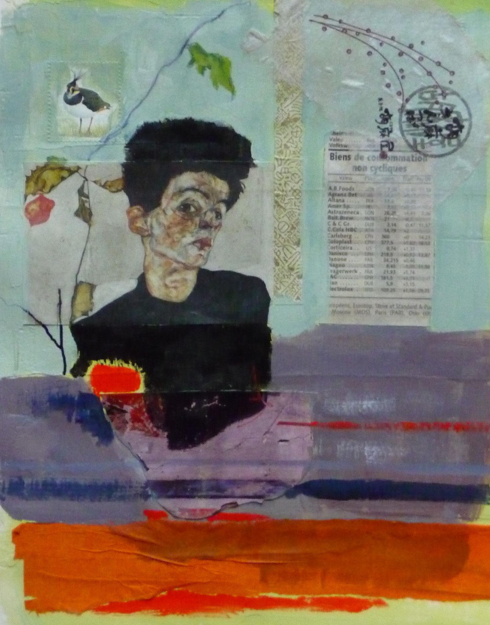 Biens de consommation non cycliques   ---   2012 - Acrylique - 30 x 20 cm