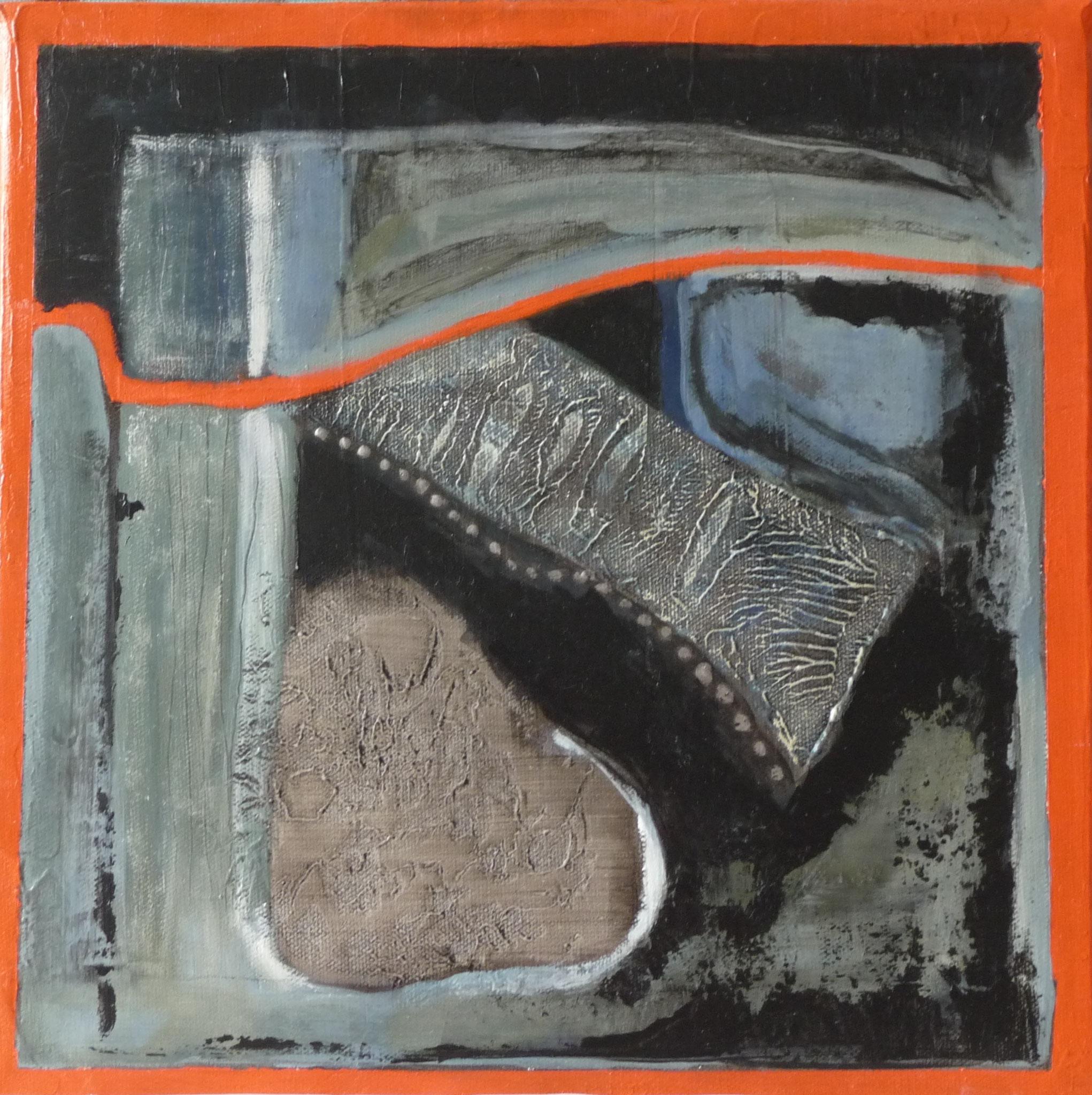 Itinéraire   ---   2011 - Acrylique - 30 x 30 cm