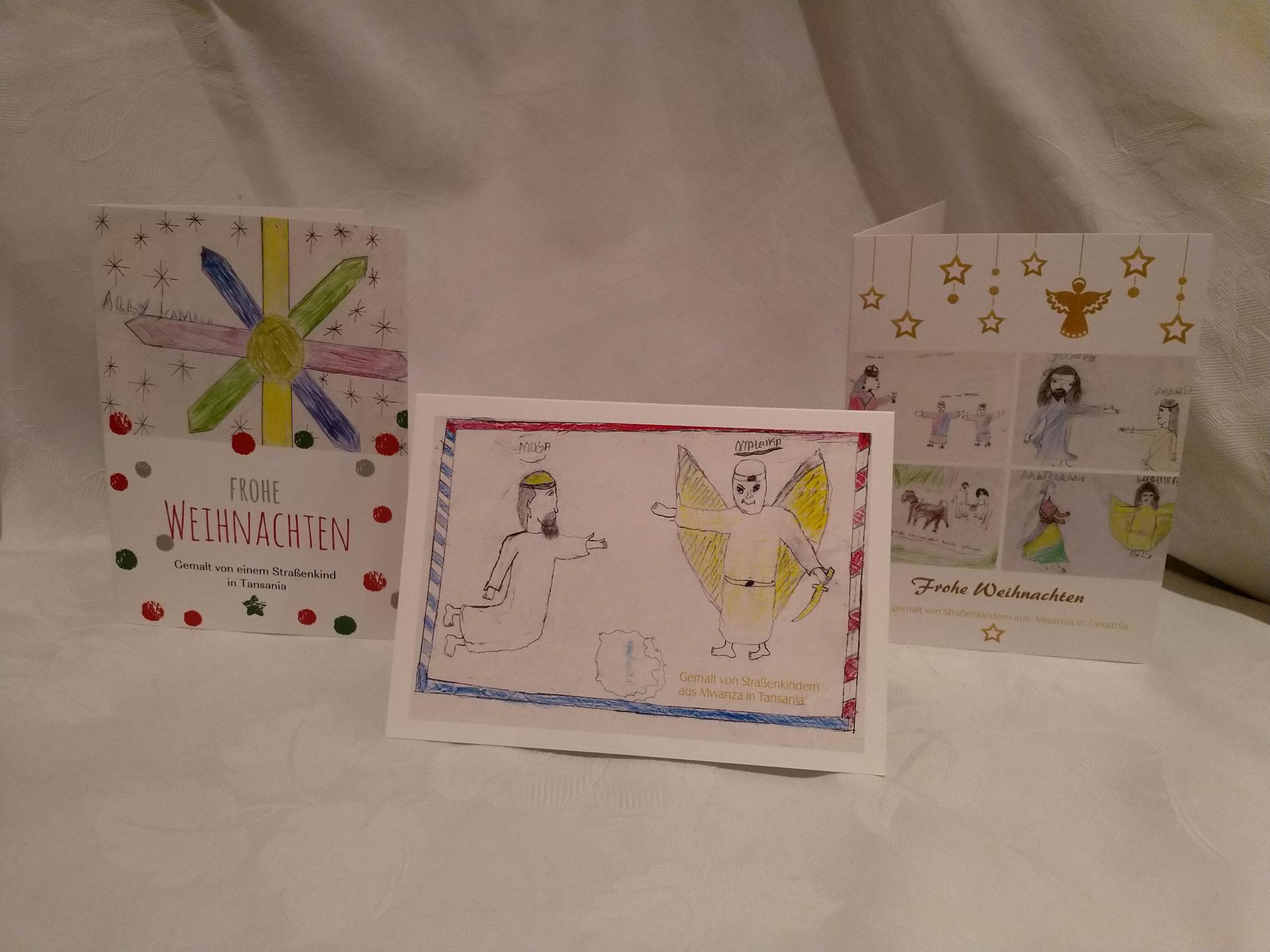 4 Set mit drei Karten