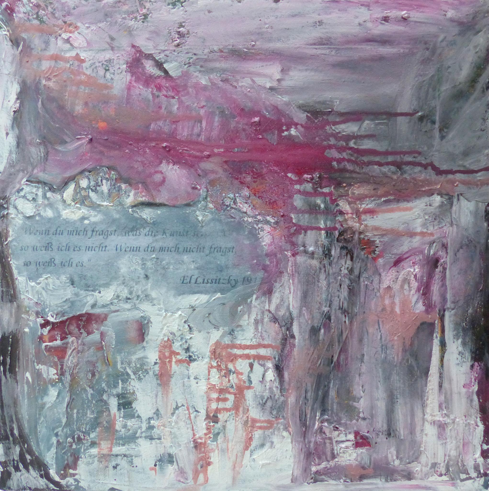 Abstrakt / 47 x 47 cm
