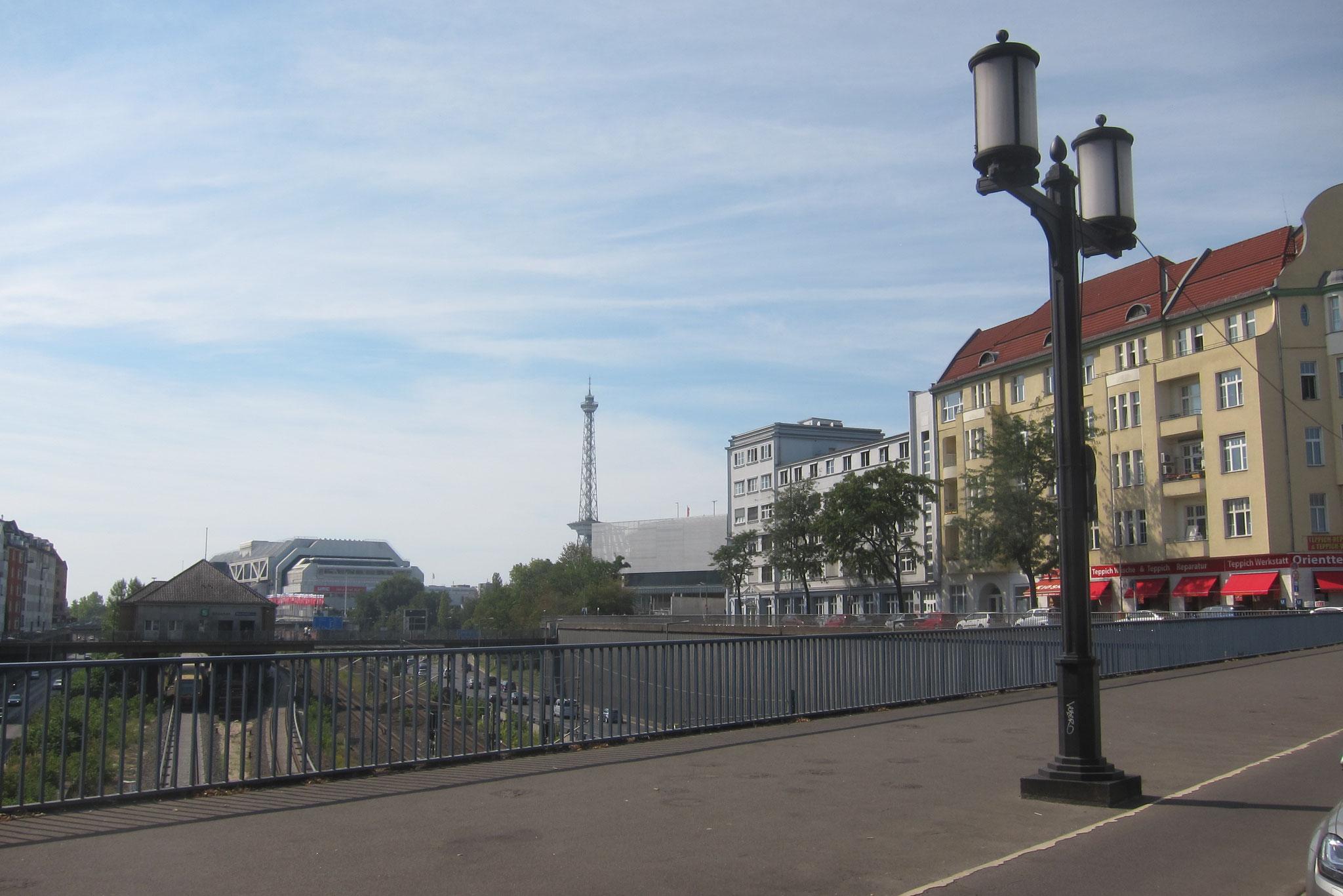 Die Planungen im Umfeld haben auch Auswirkungen auf den Kaiserdamm.