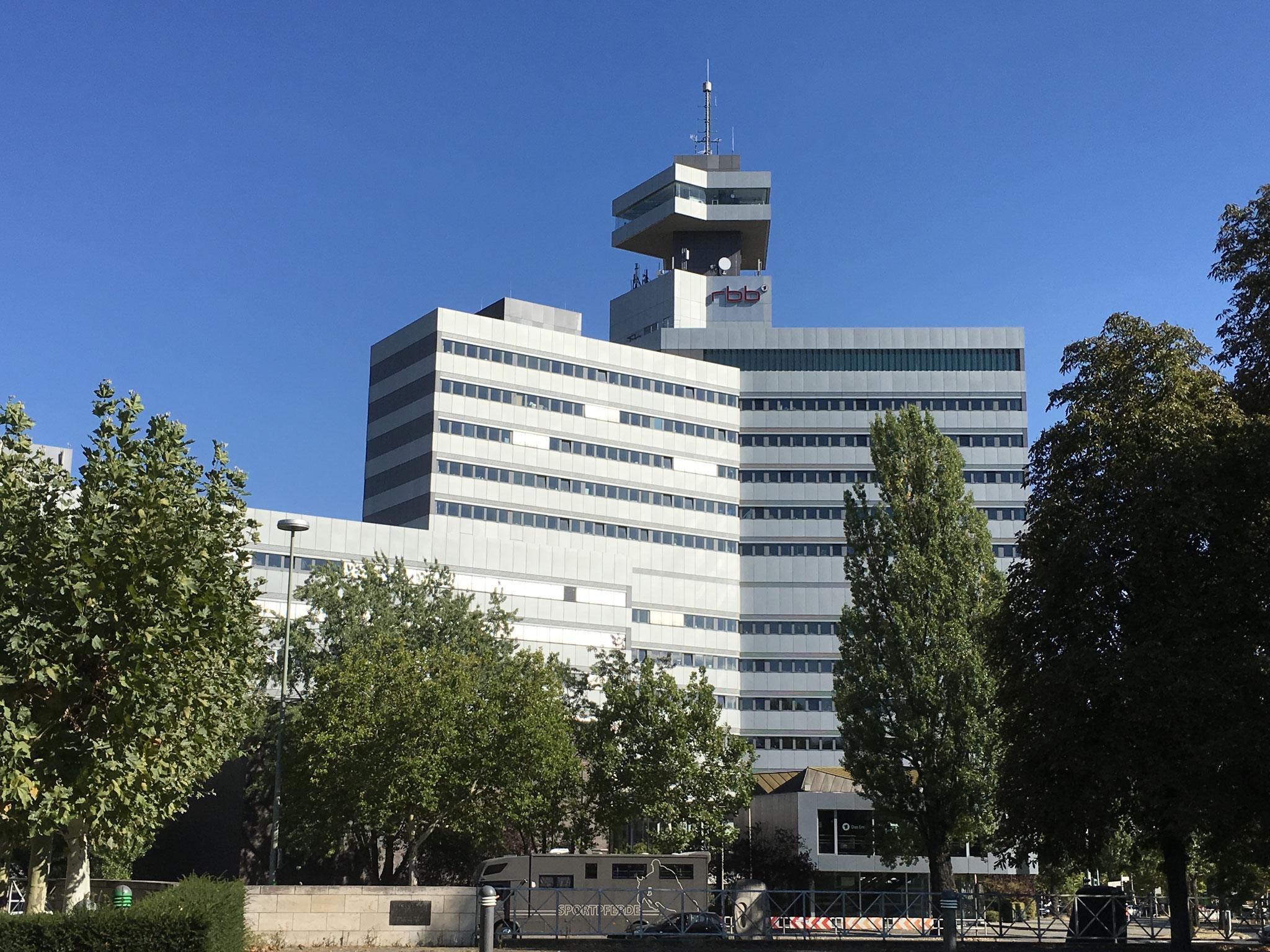 Das RBB-Zentrum am Theodor-Heuss-Platz