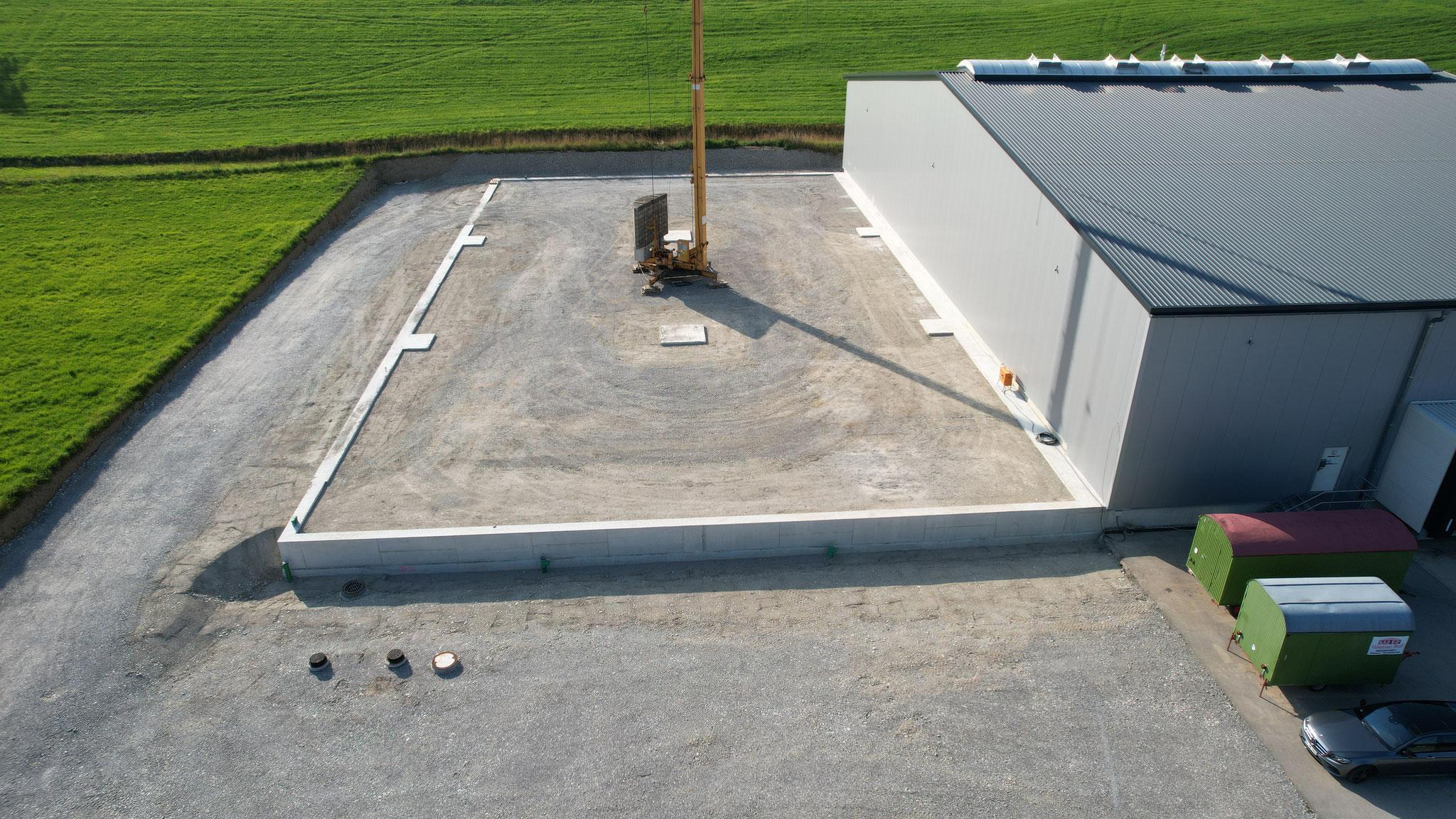 BV: Immenthal/Günzach Bauabschnitt 2 Schlüsselfertige Speditionshalle