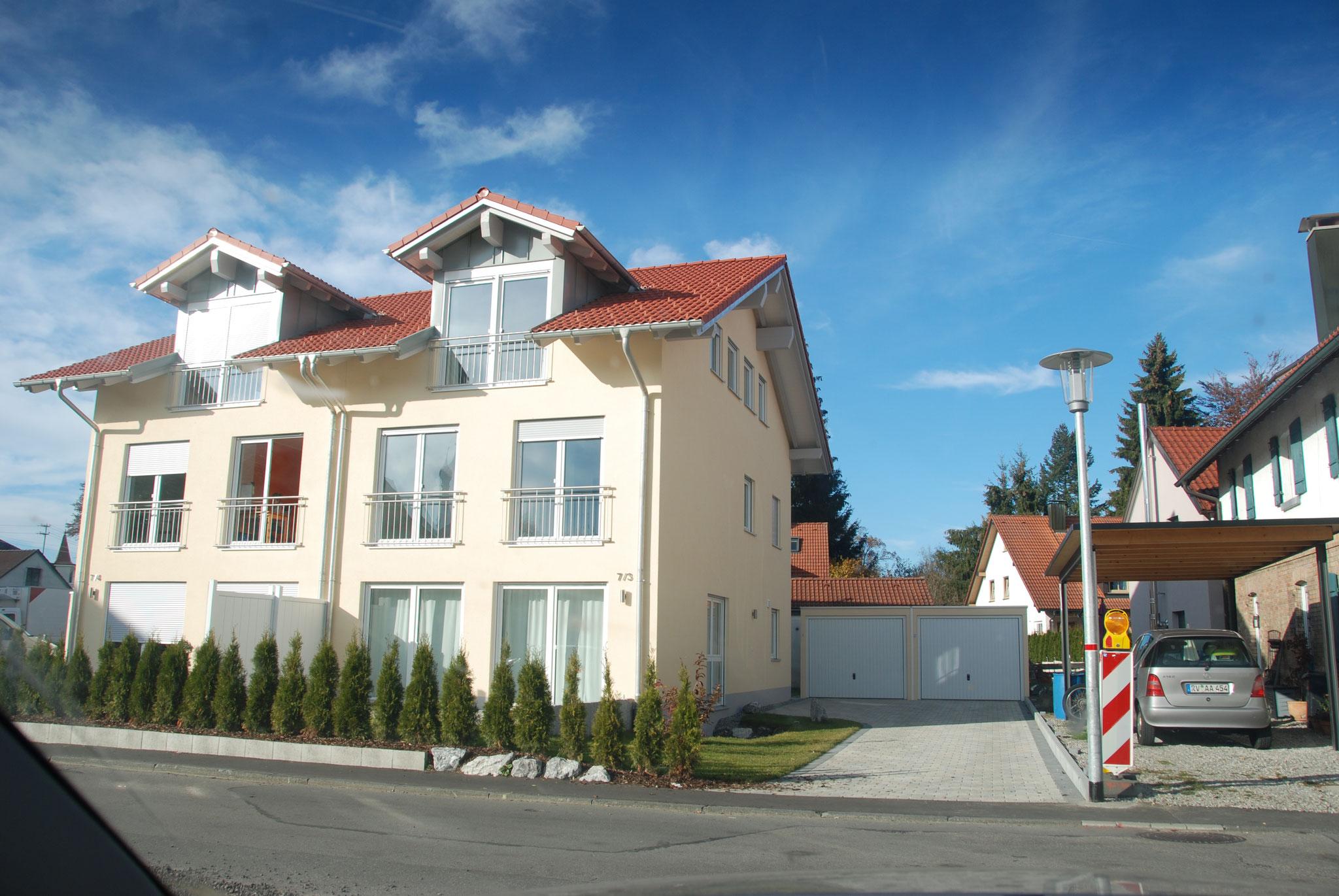 BV: Isny Schlüsselfertiges Doppelhaus