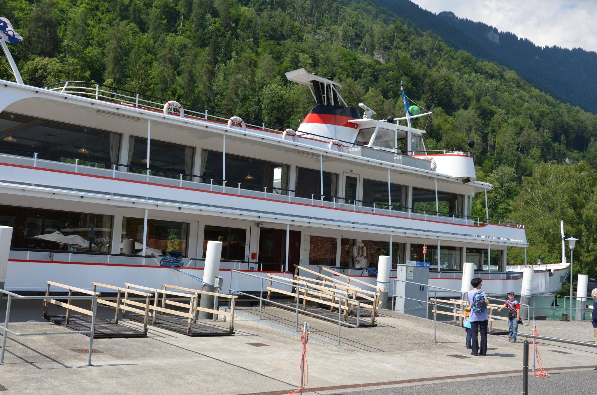 Landfrauenreise  Schifffahrt Interlaken-Brienz