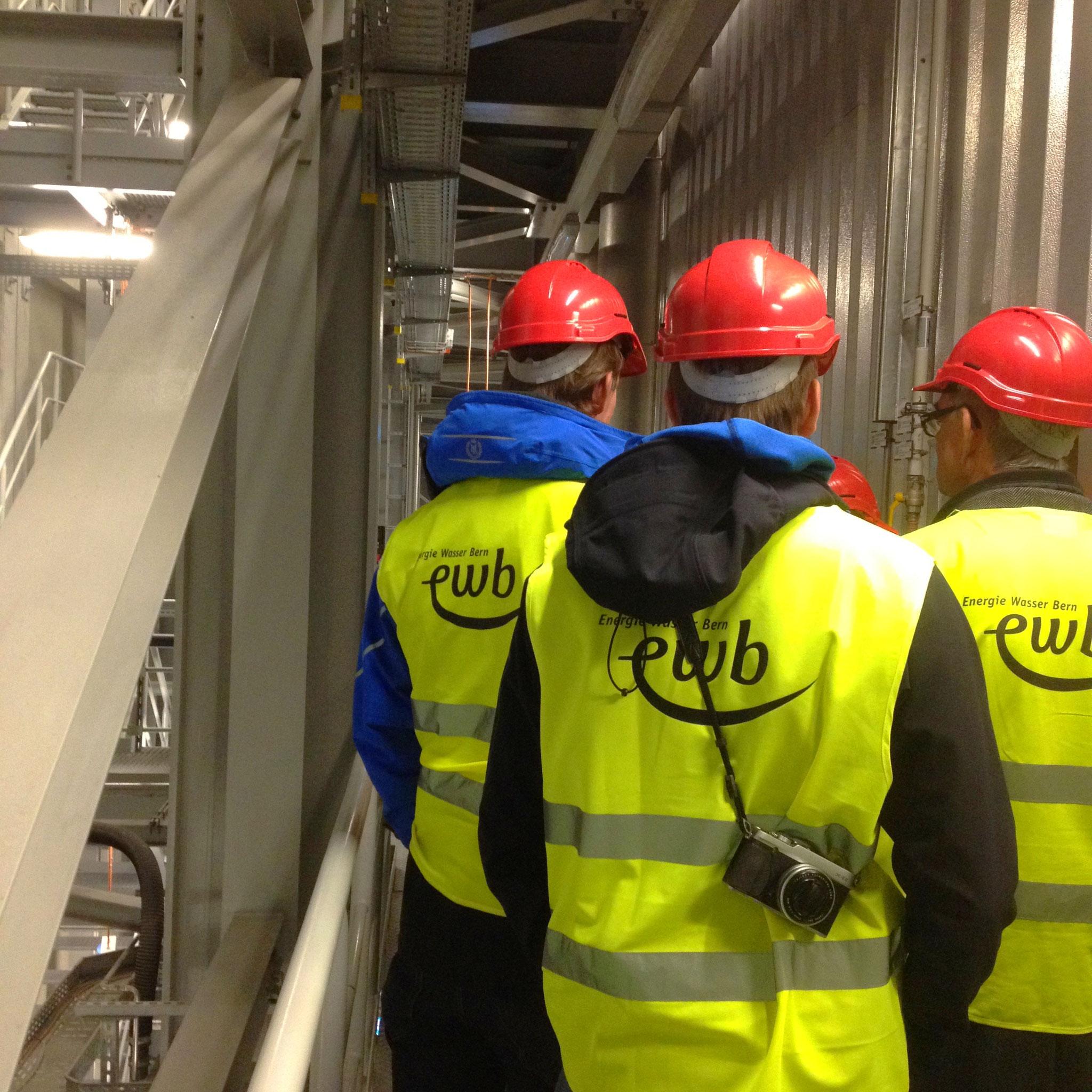 Besuch der Energiezentrale Bern