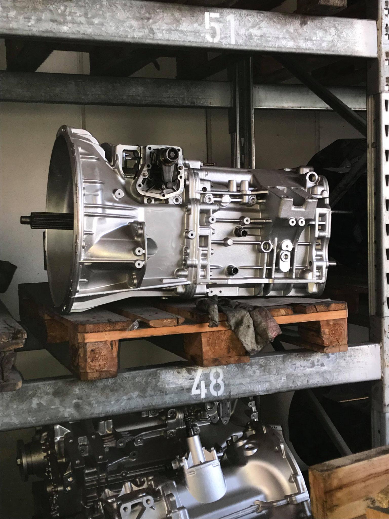 Mercedes Actros, Atego, Axor Getriebe