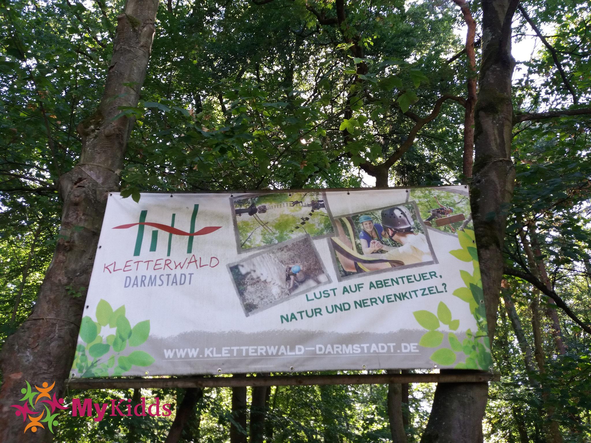 Kletterausrüstung Darmstadt : Kletterwald darmstadt mykidds