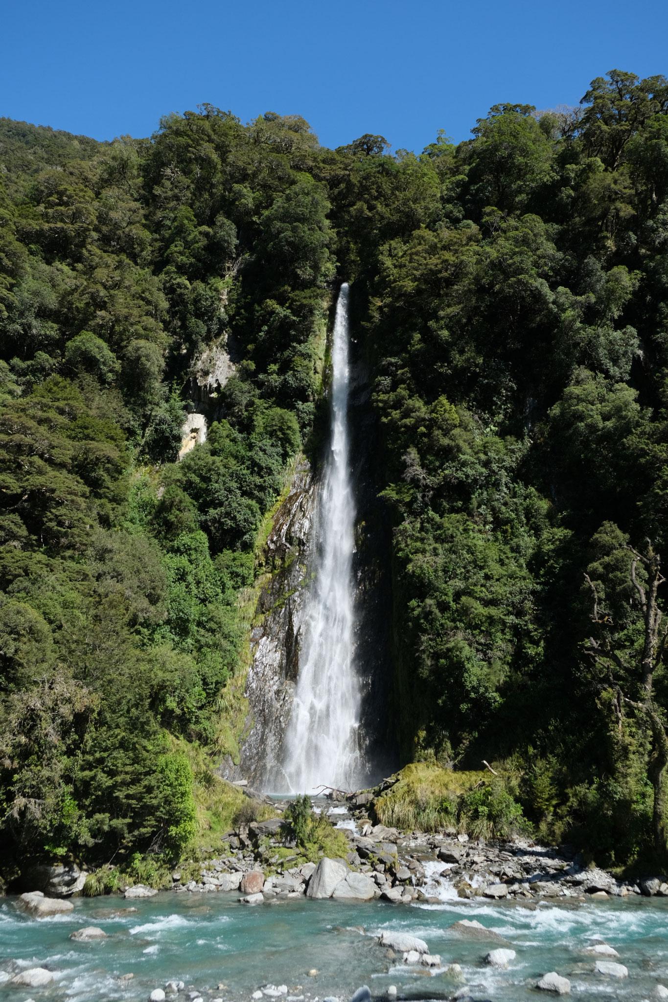 Makarora River Falls