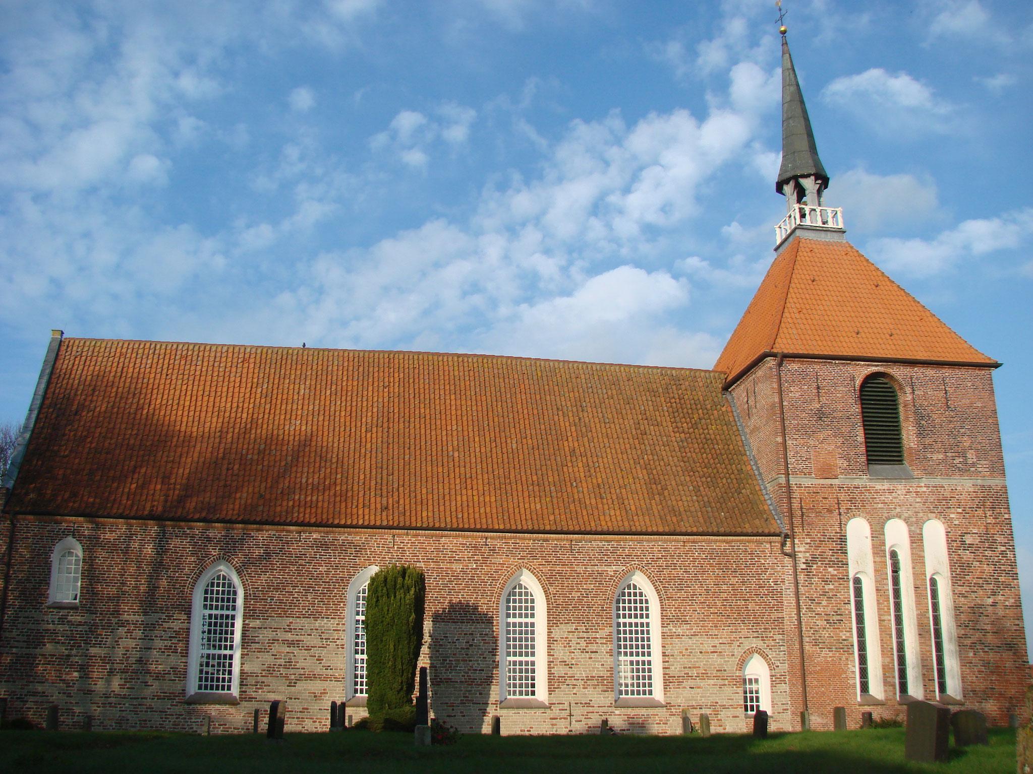 In der Rysumer Kirche ist die älteste bespielbare Orgel Nordeuropas!