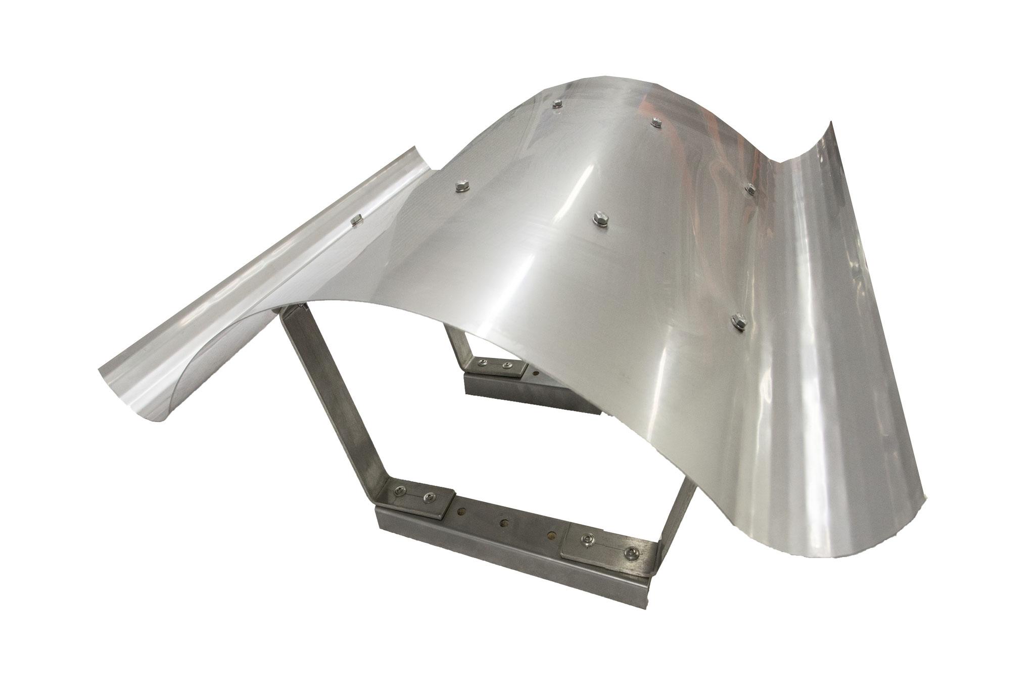 Kaminhaube Form 8 (in VA 1mm stark/in Kupfer 1,5 mm stark)