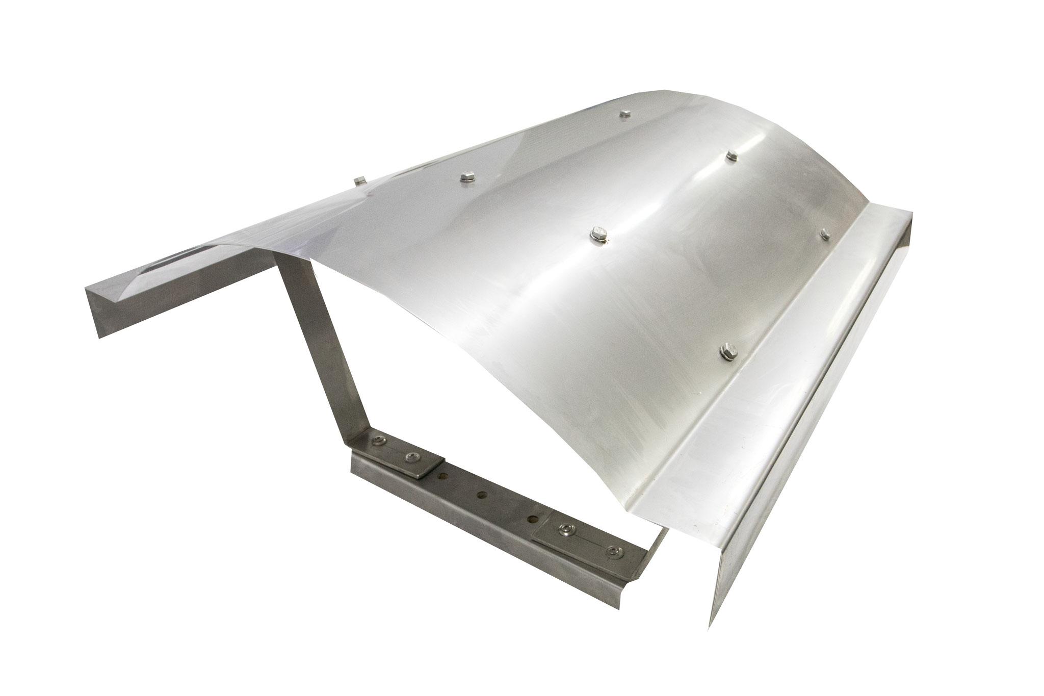 Kaminhaube Form 7 (in VA 1mm stark/in Kupfer 1,5 mm stark)