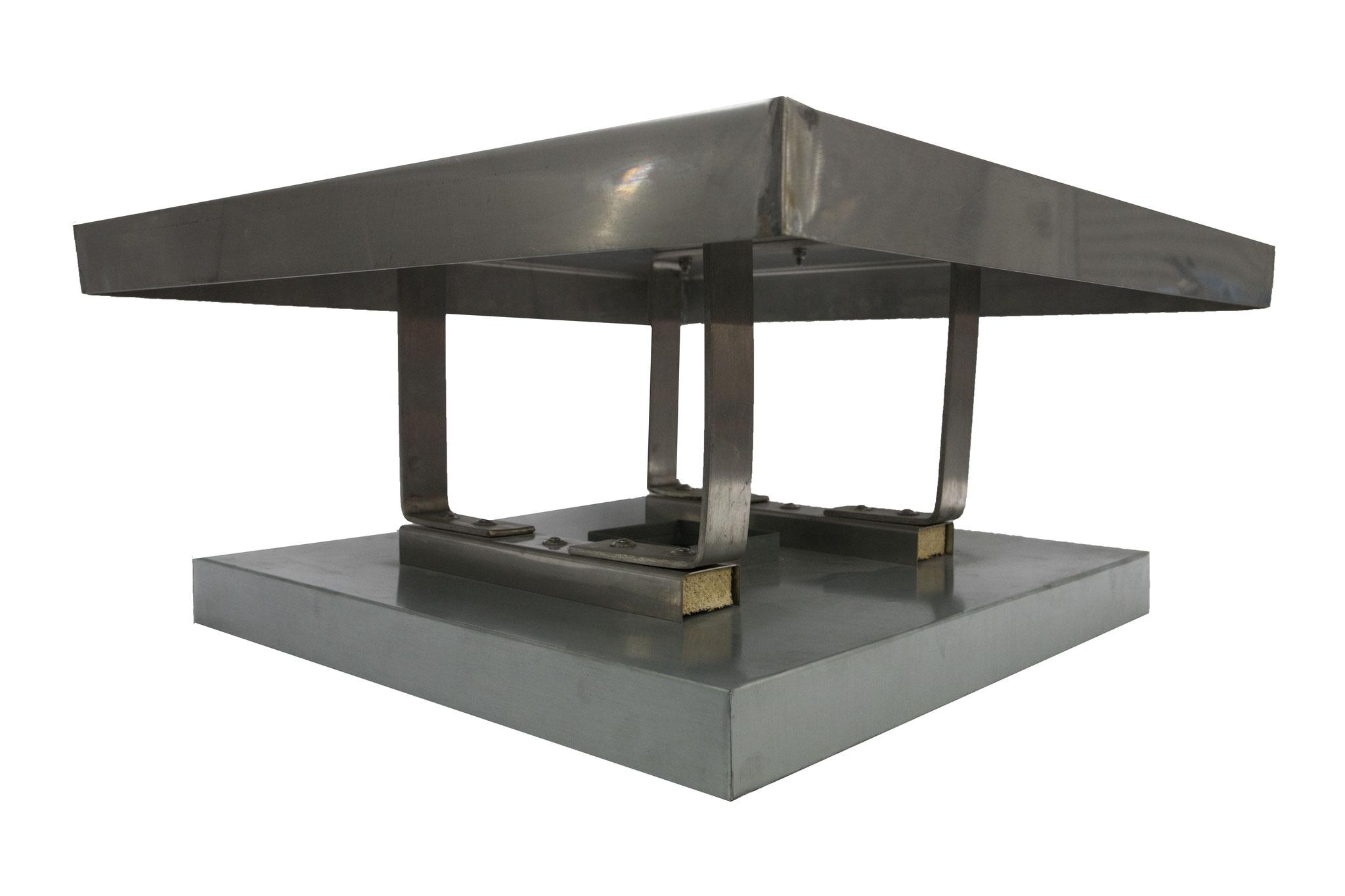 Kaminhaube Form 5 (in VA 1mm stark/in Kupfer 1,5 mm stark)