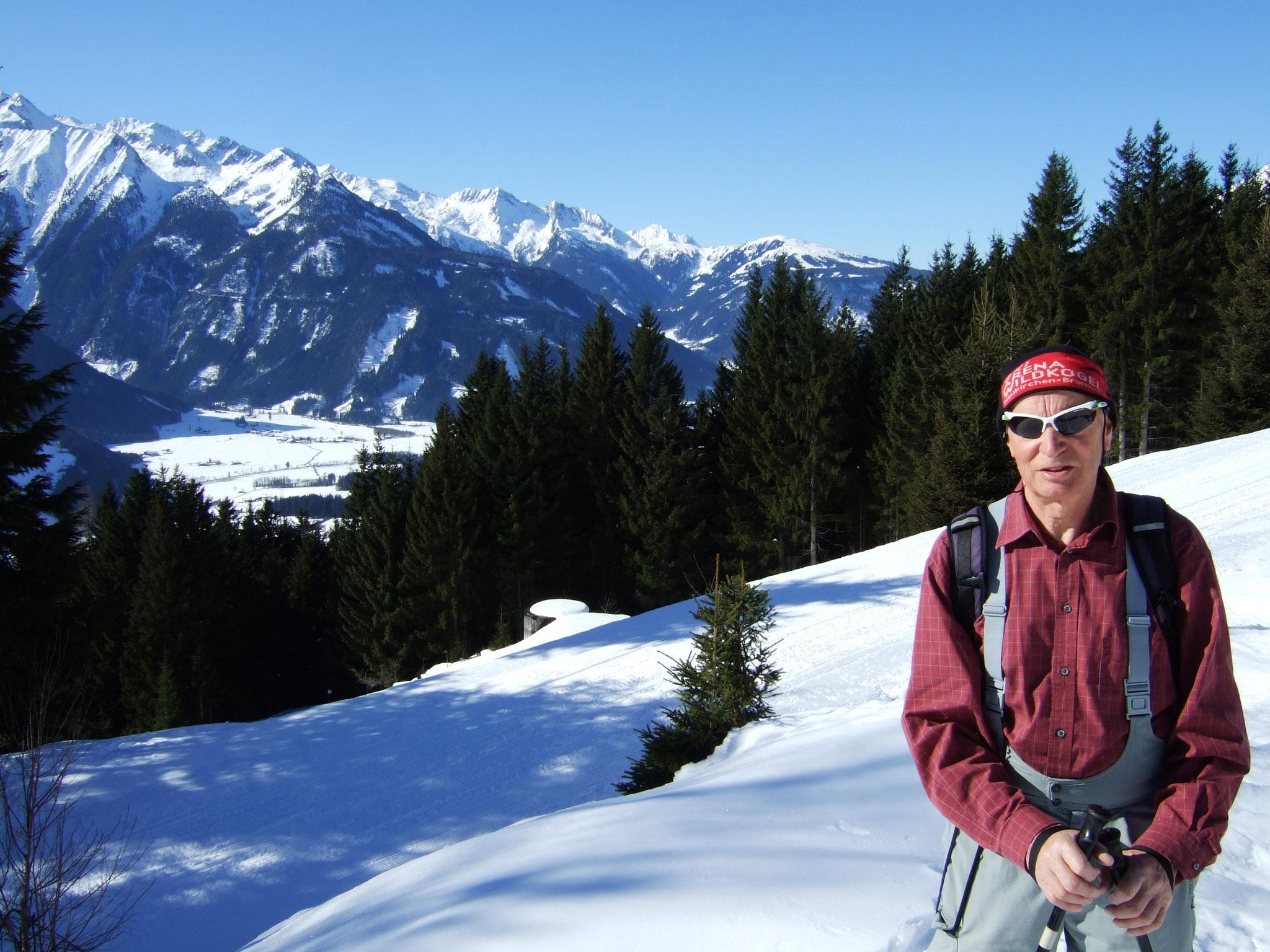 auf Skitour ...
