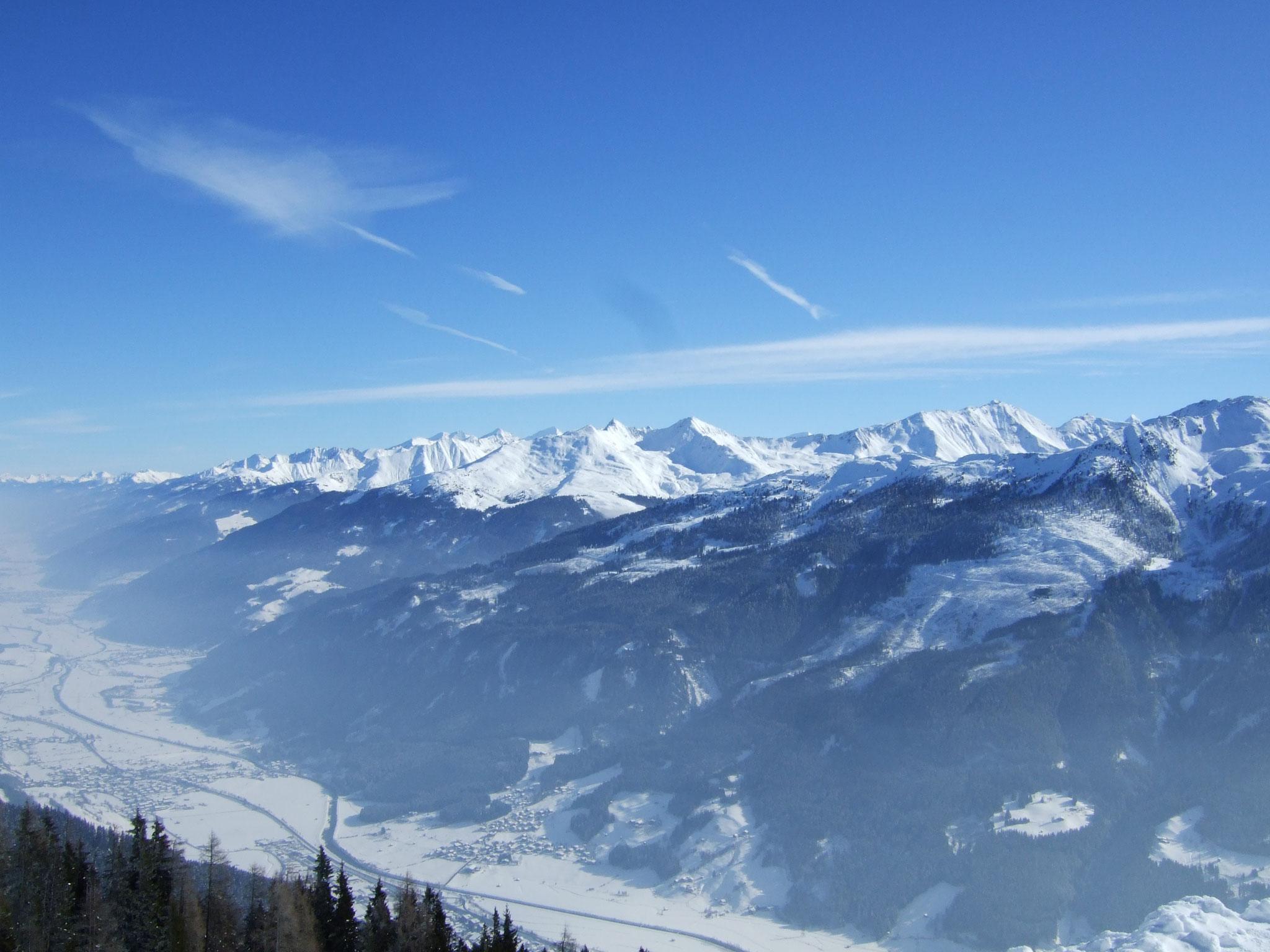 ... mit fantastischem Panorama