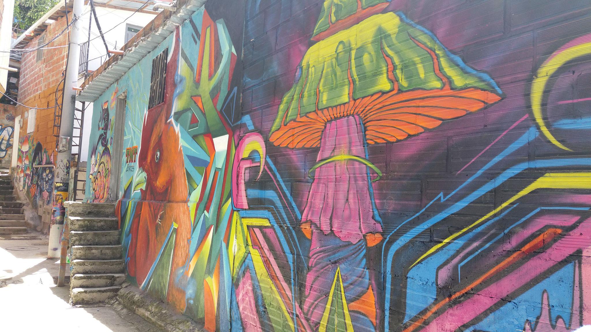 Medellin - Comuna 13 - Colombie