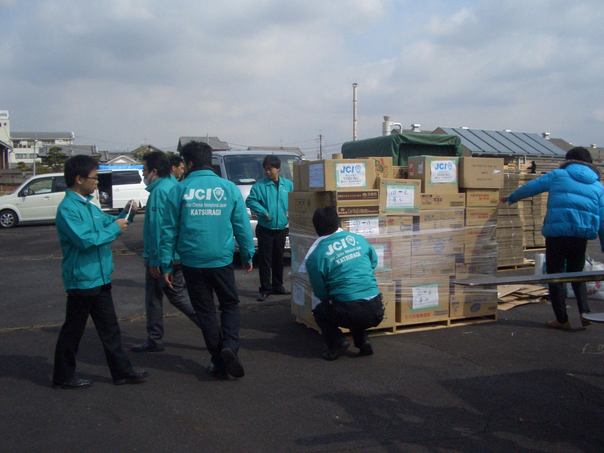 東日本大震災での活動