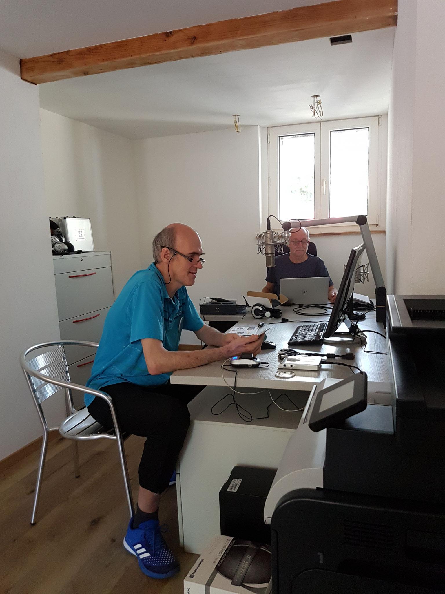 Christoph Hohler, Radio Basilisk und Walter Reinhard, Auris