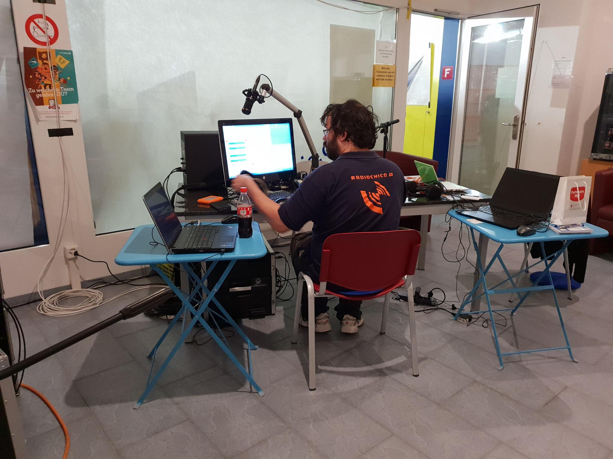 Im aargwärb RadioChico Studio