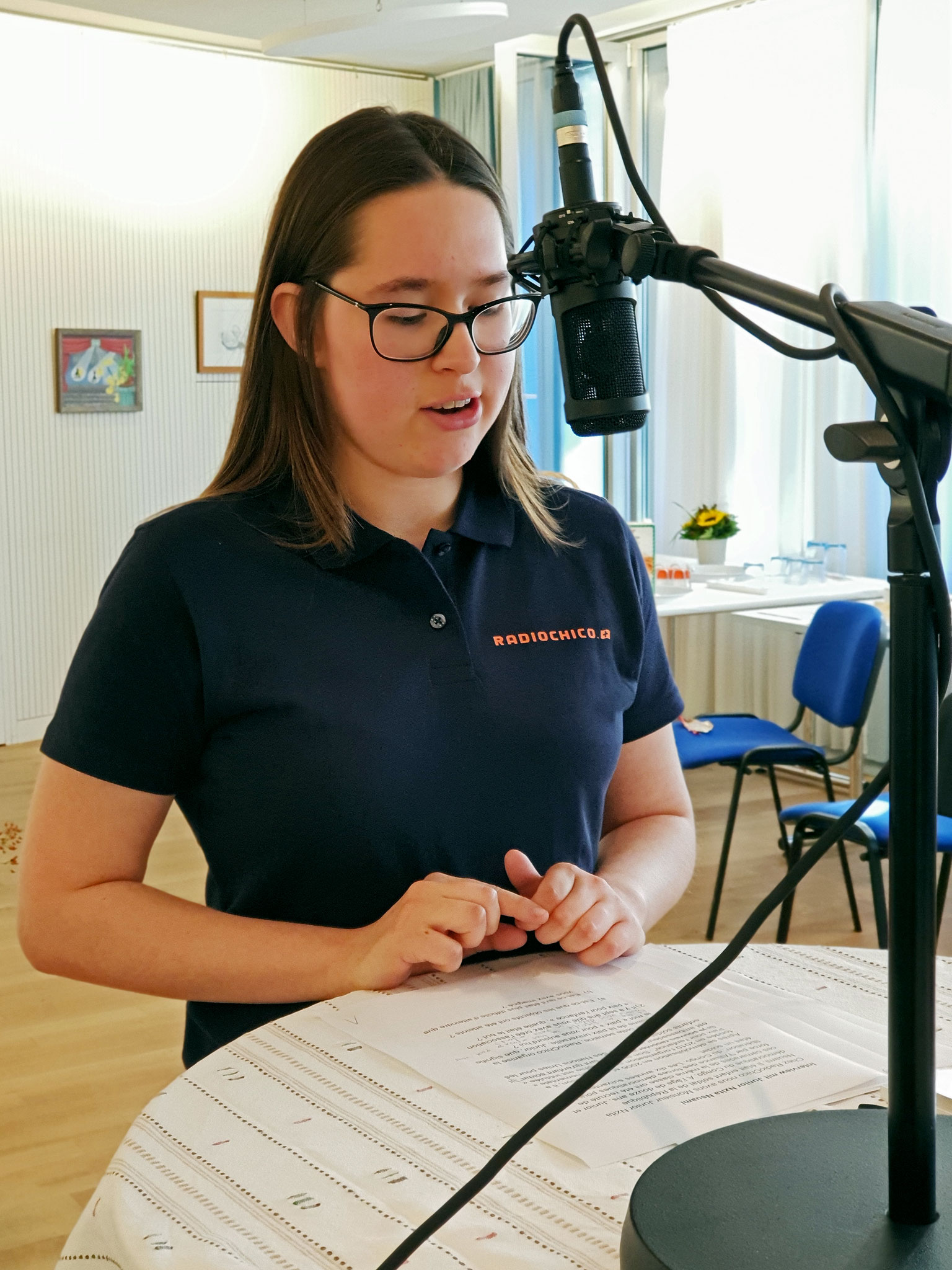 Praktikantin Denise im Interview