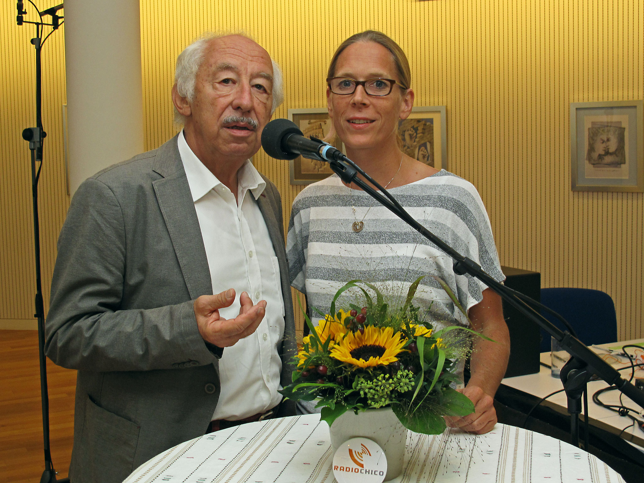 Corinne Wissing und Roland Jeanneret - 'I care for you'