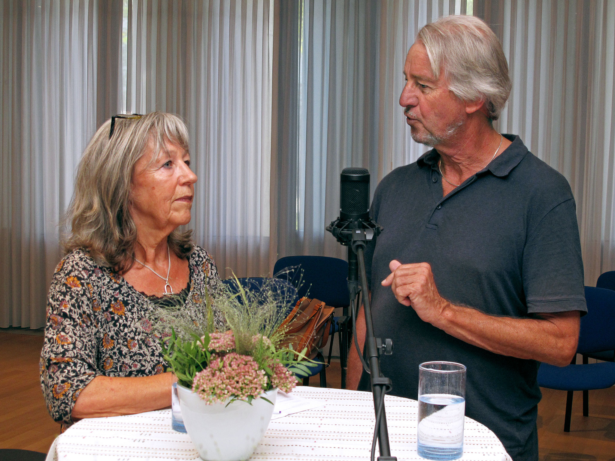 Beatrice Bucher und Heinz Messerli