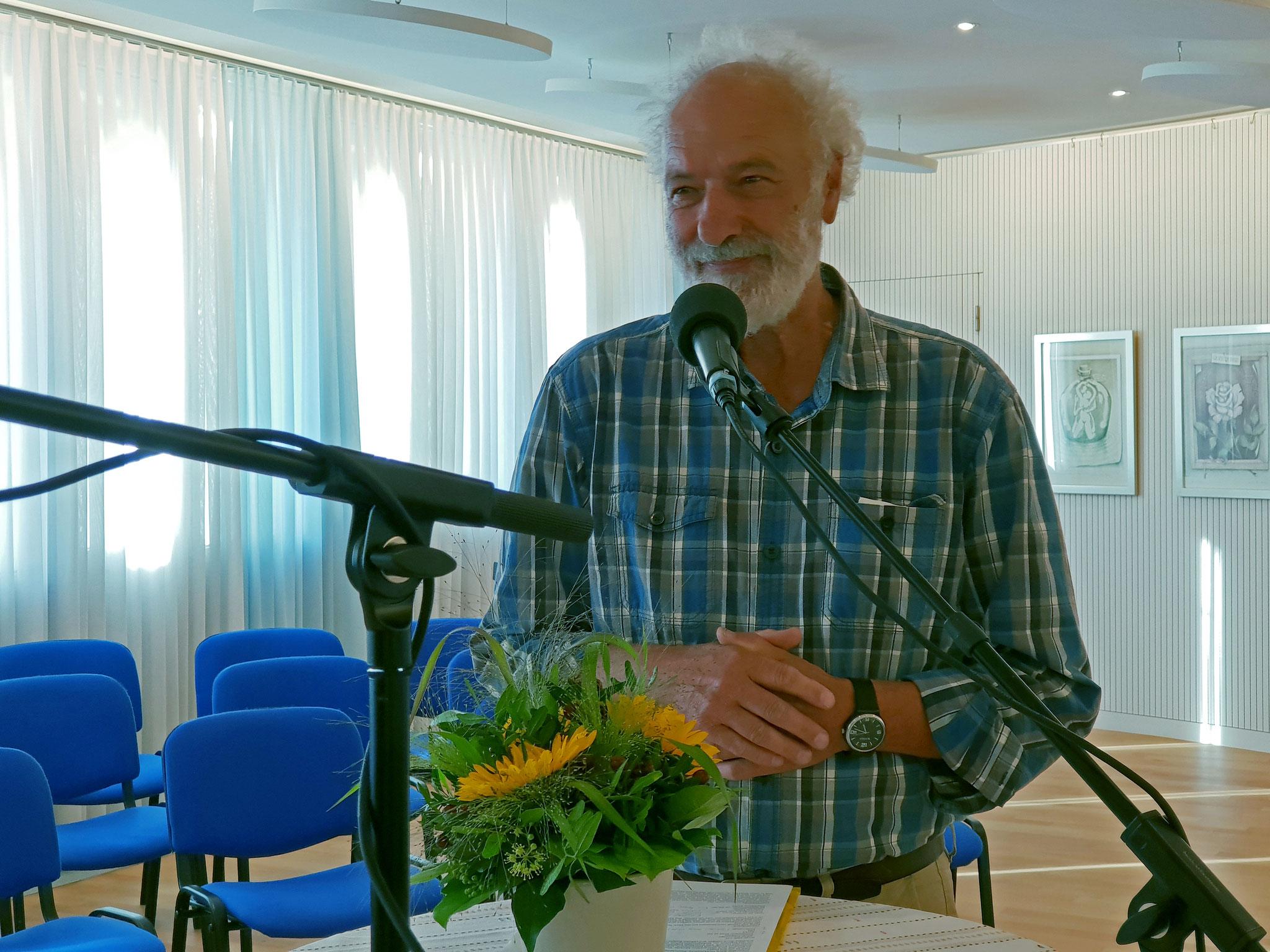 Herr Ueli Wildberger, Theologe und Co-Präsident von IFOR-MIR.ch