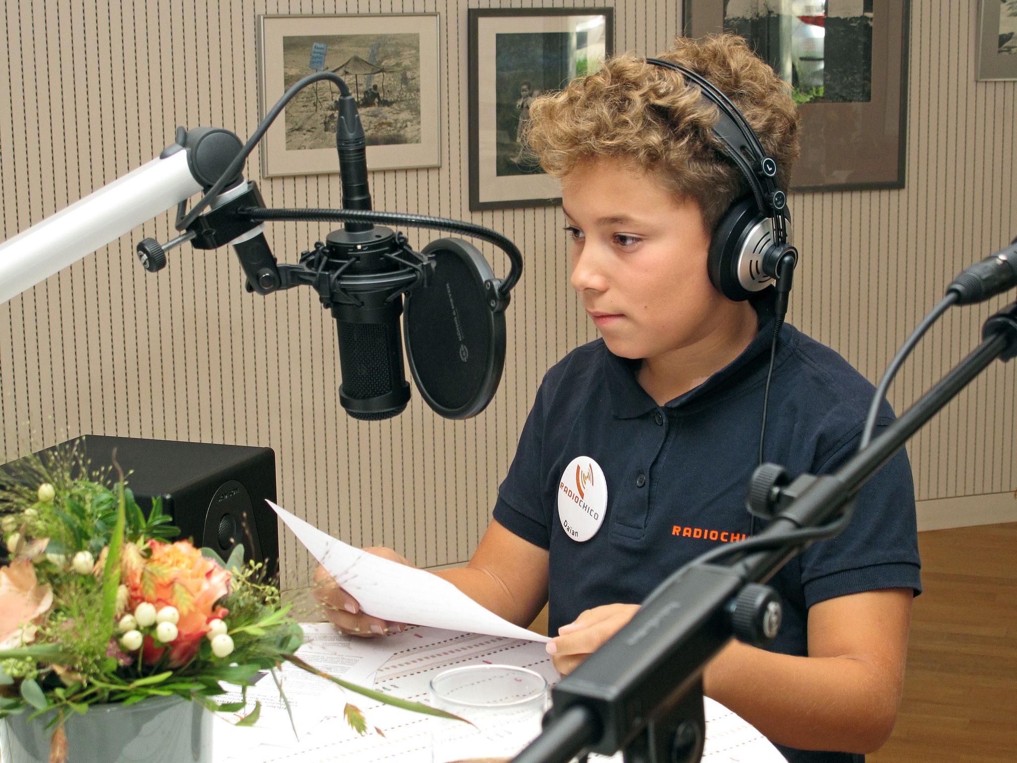 RadioChico Jugendmoderator Daïan