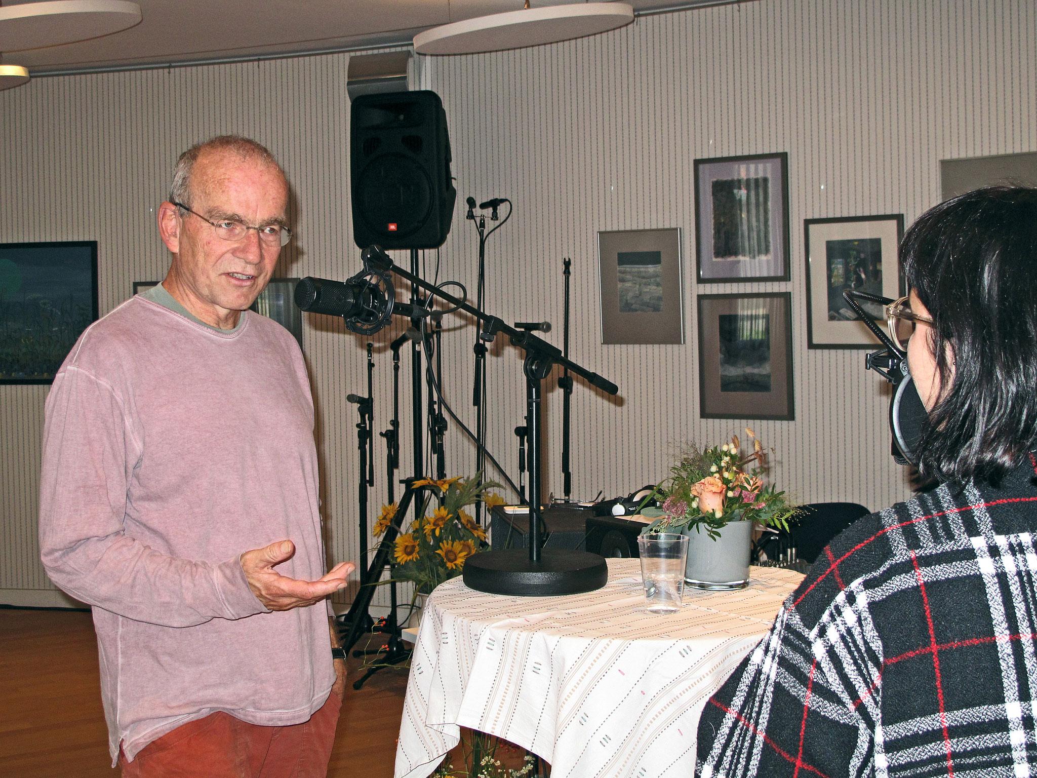 Ueli Haller, pensionierter Pfarrer