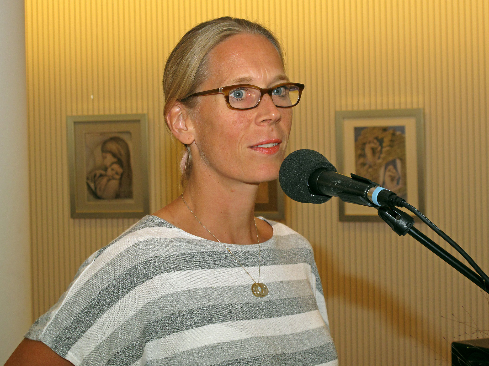 Frau Corinne Wissing - Stiftung 'I care for you'