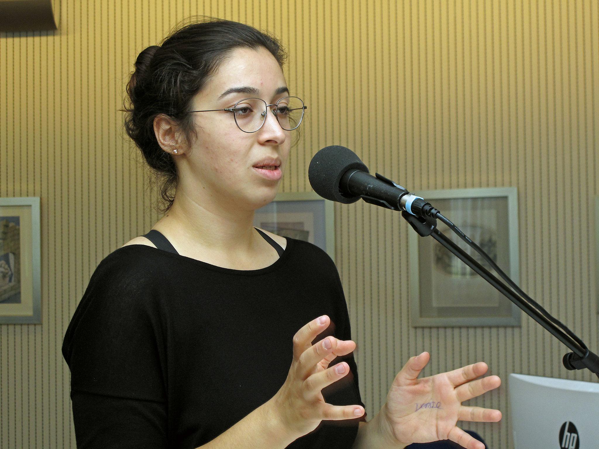 Frau Esma Tankus, Junge Muslime Biel