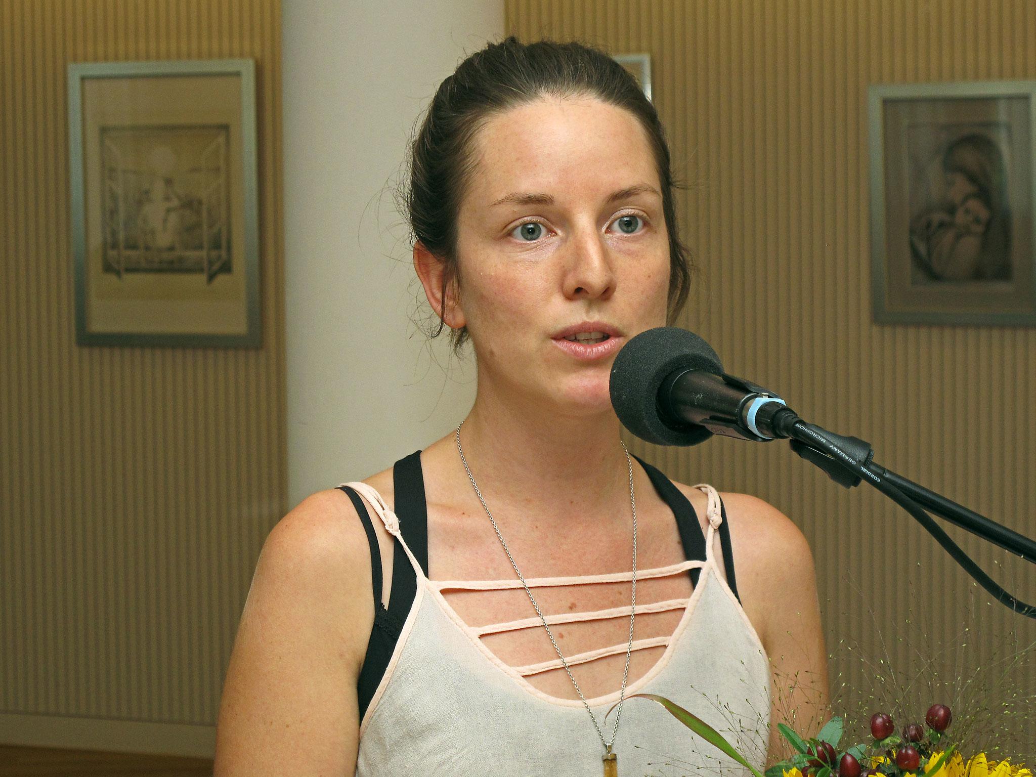 Frau Rayén Oberholzer, Friedensbewegung
