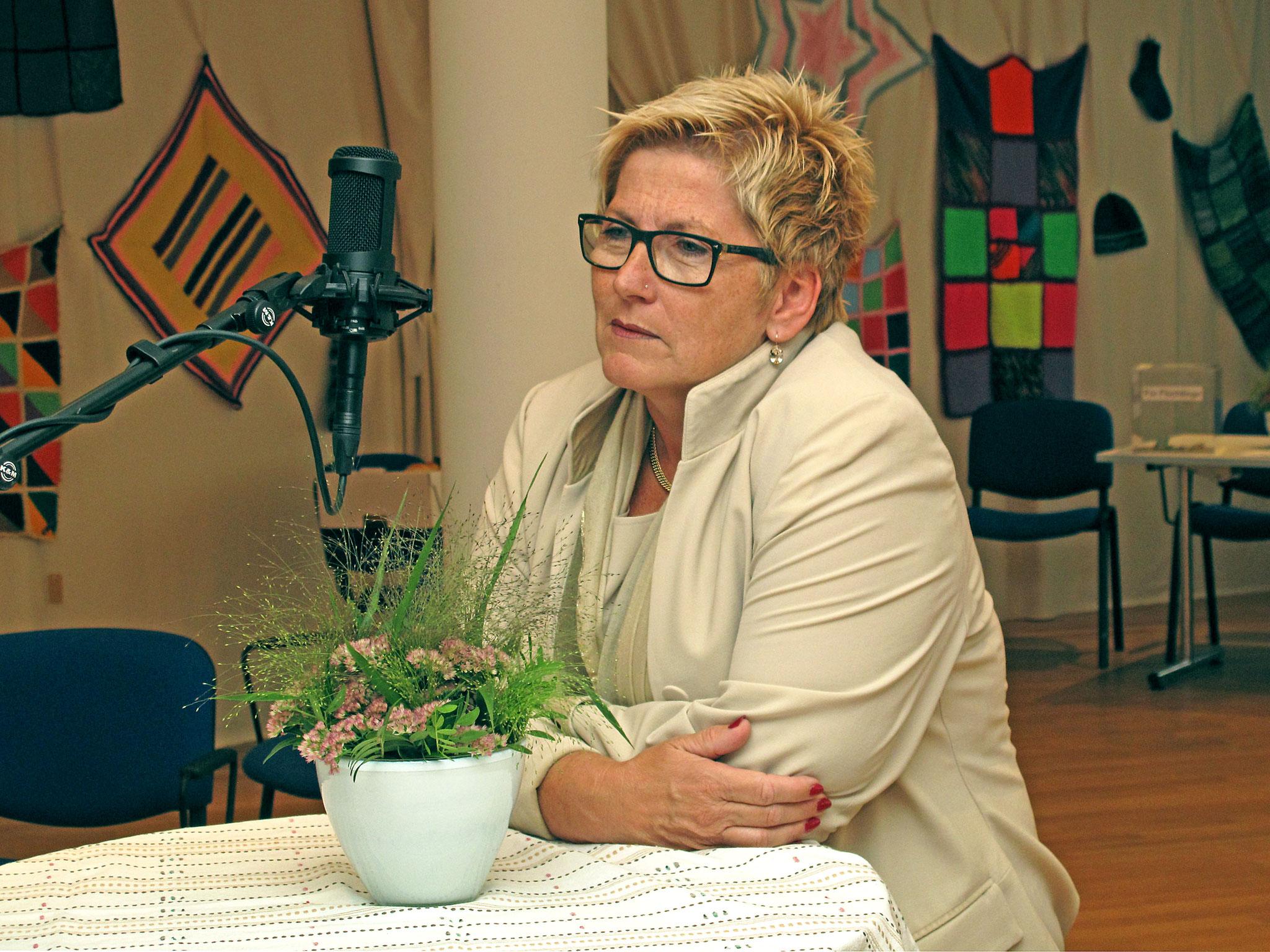 Regierungsratspräsidentin und RadioChico Gotte Beatrice Simon