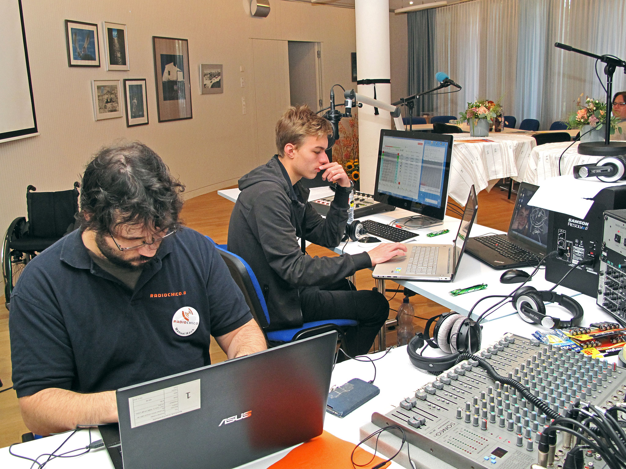 RadioChico live von der Weltfriedenswoche