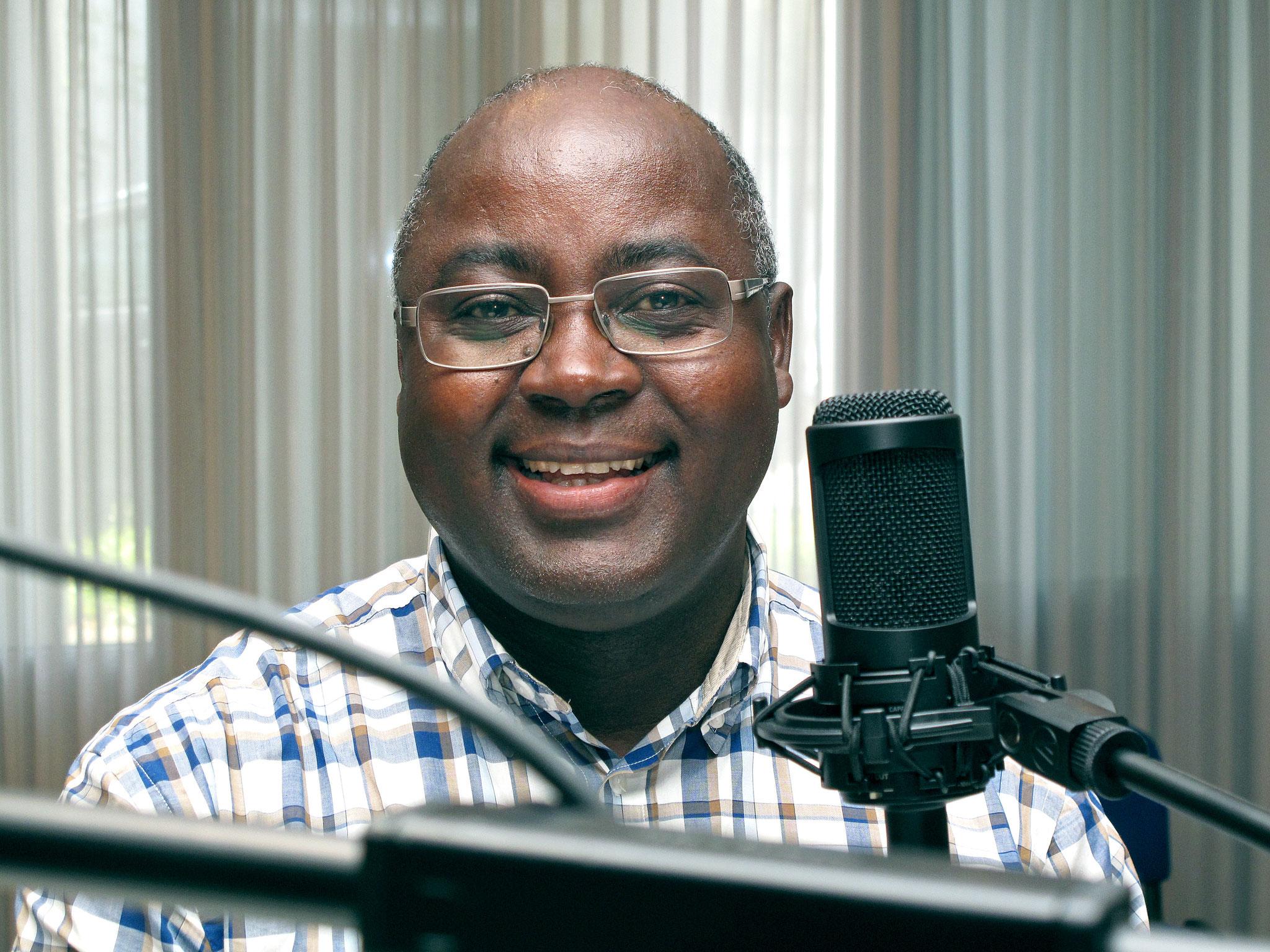 Père Roger aus dem Kongo