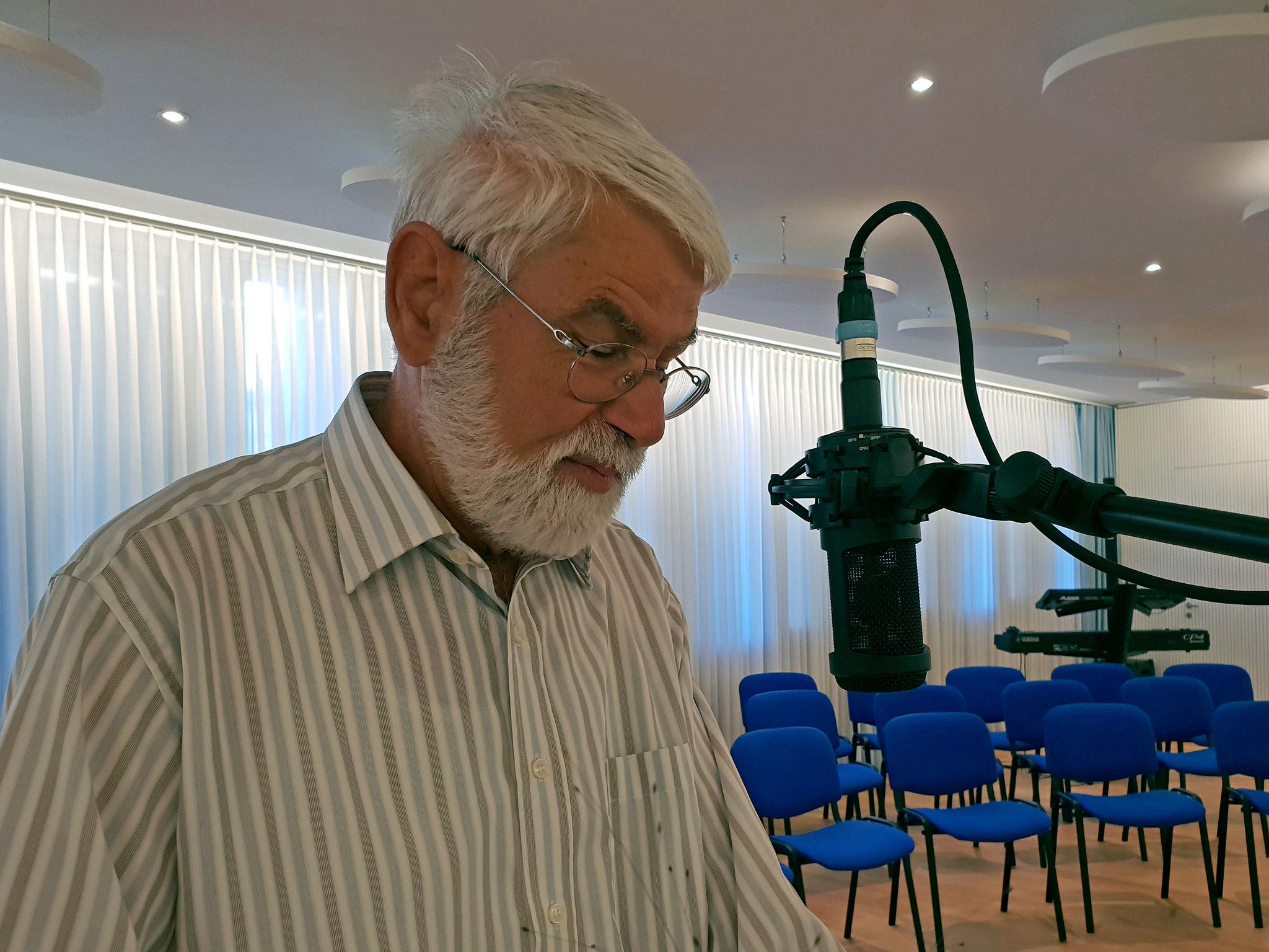 Herr Robert Ruprecht Kirchgemeindepräsident Friedenskirche