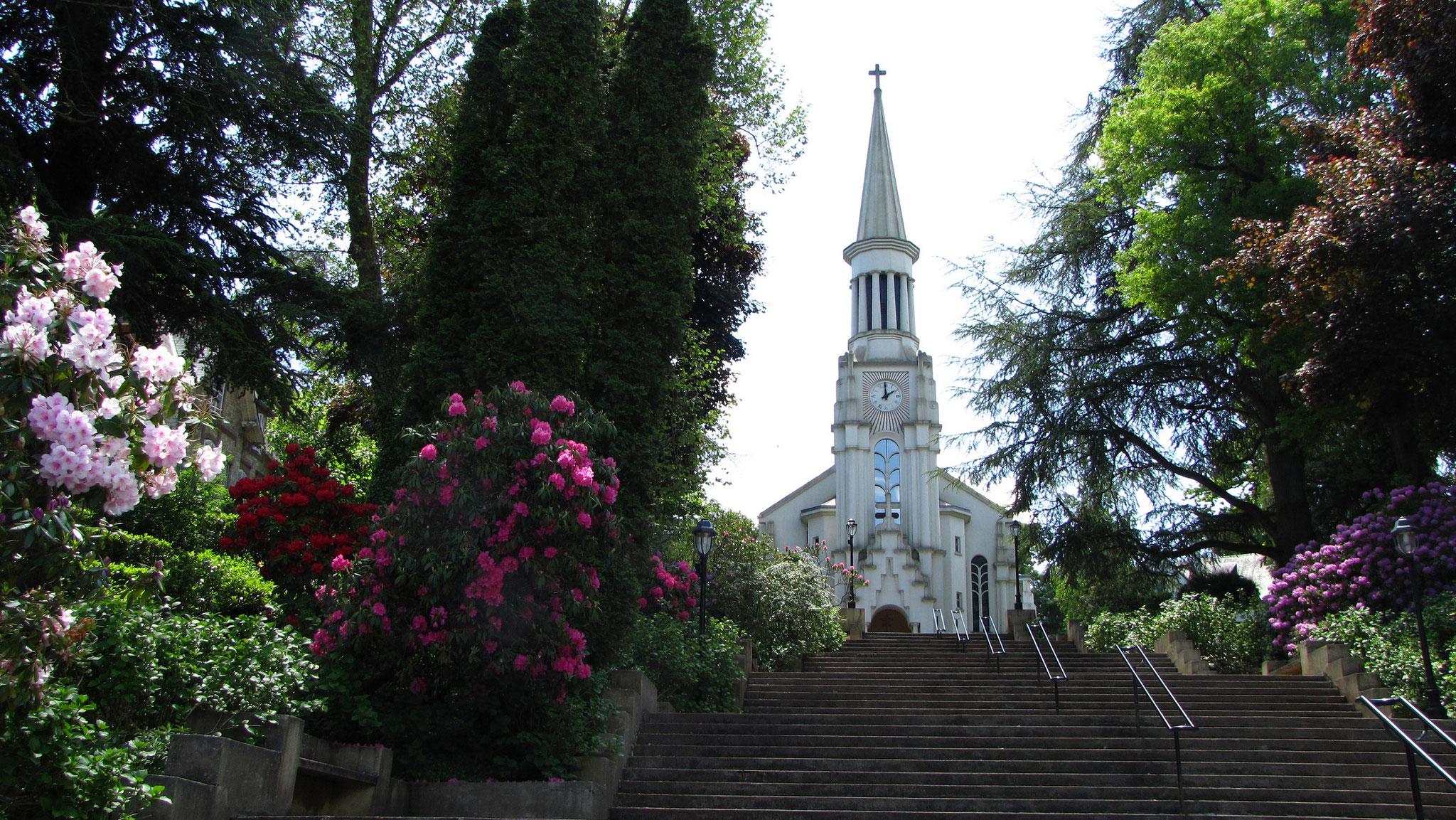 Eglise Sacré Coeur Bagnoles de l'Orne Normandie