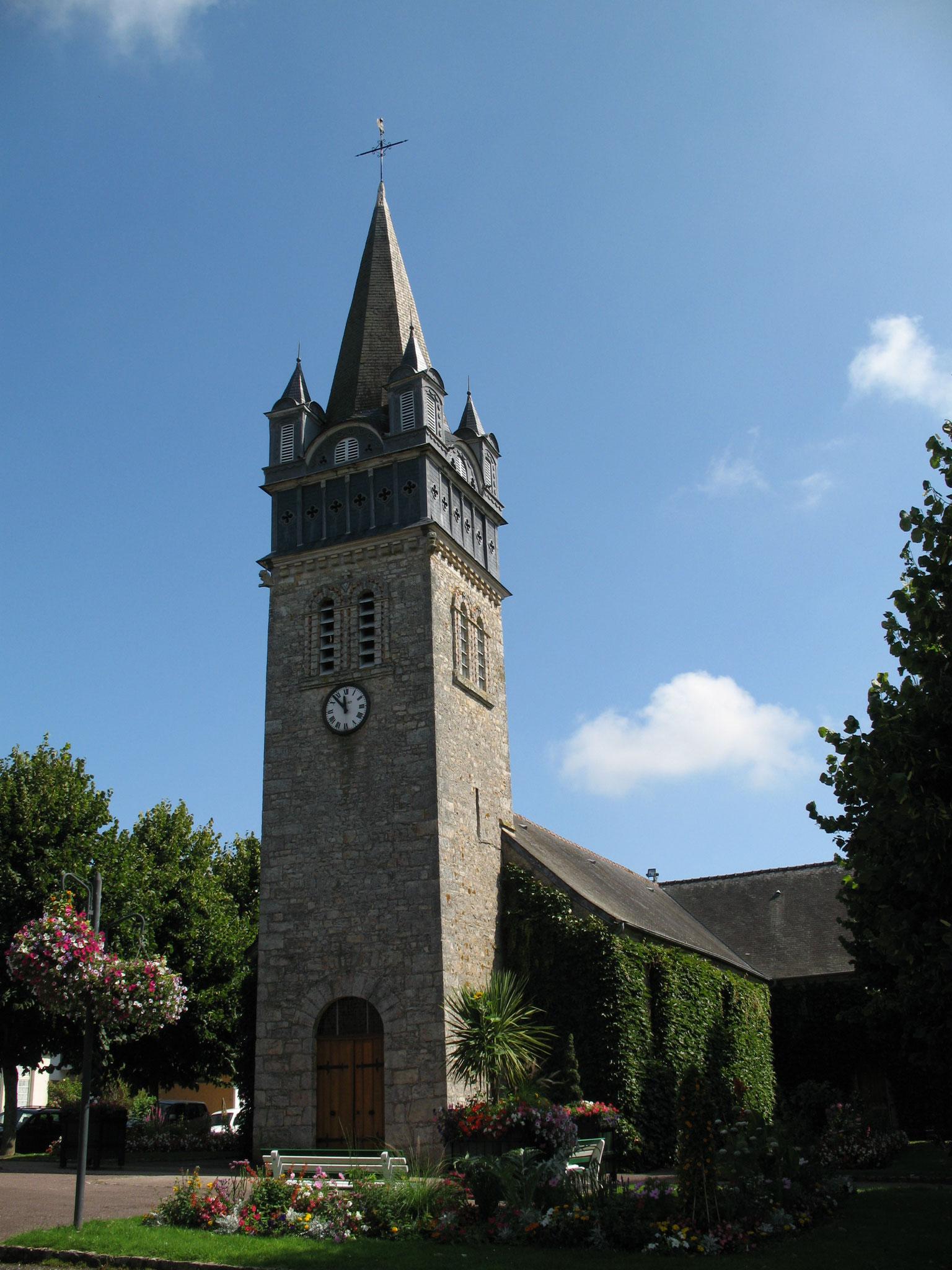 Eglise Sainte Madeleine Bagnoles de l'Orne Normandie