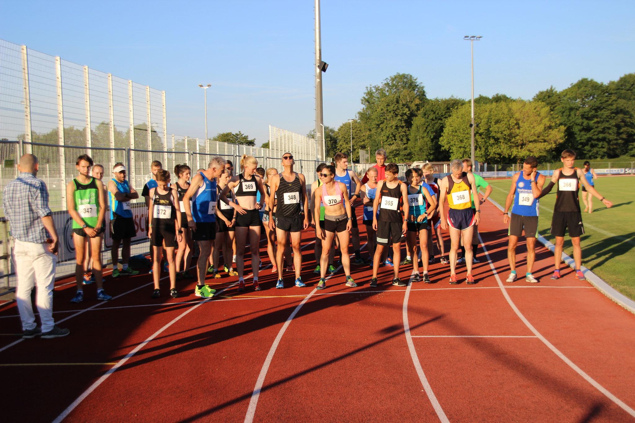 Start zu Lauf 2 (10:30min bis 11:30min)