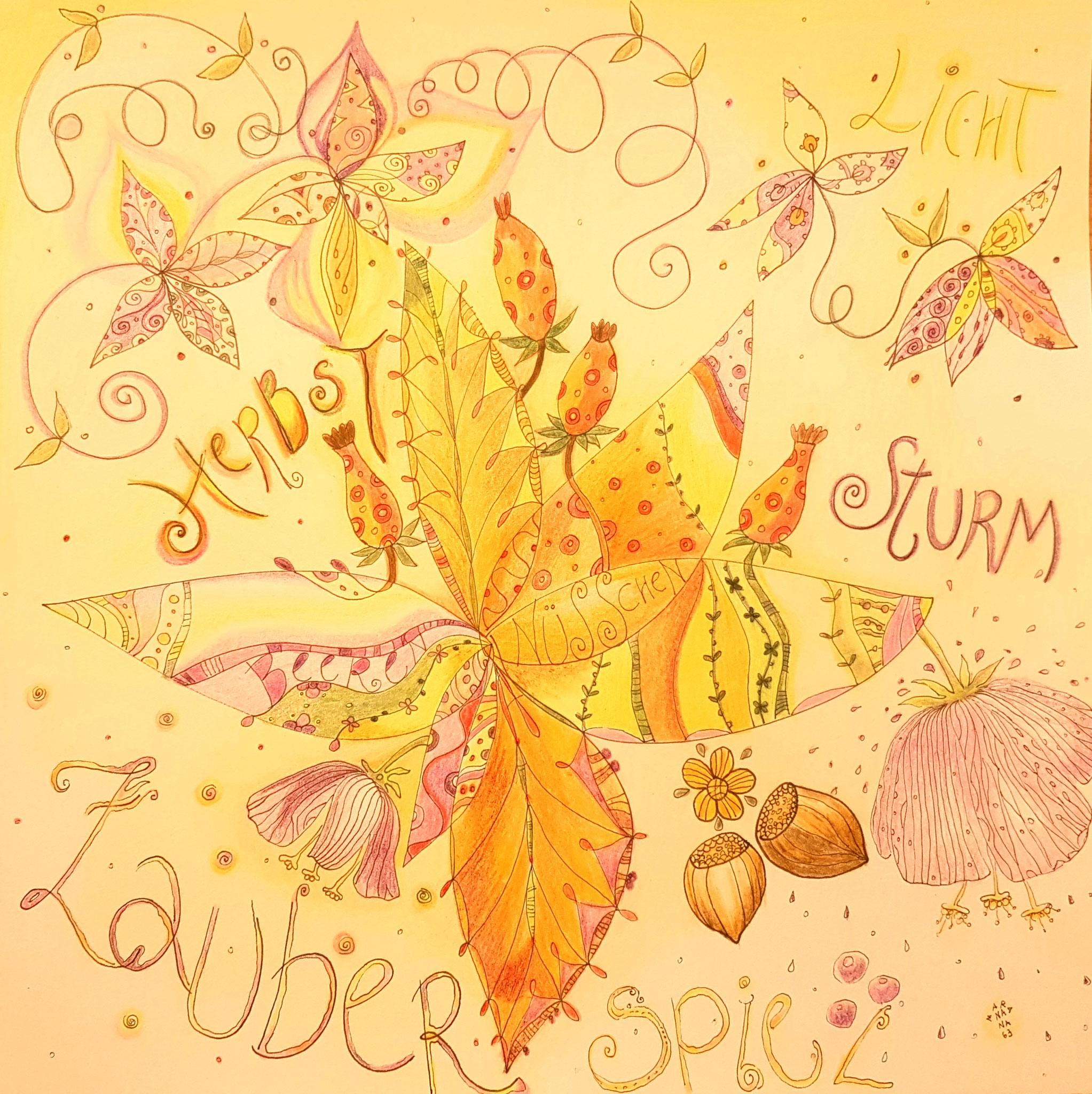 Herbst Nüsschen