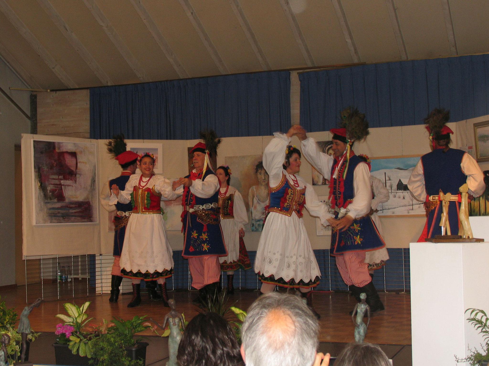 Tanzgruppe aus Polen