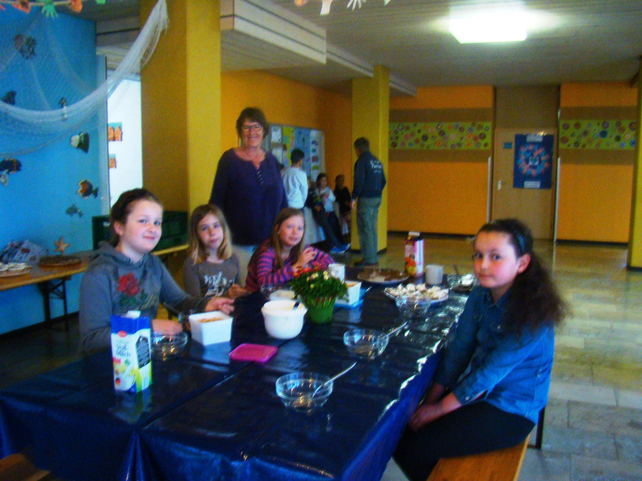 Schulfrühstück Grundschule Sonthofen-Rieden