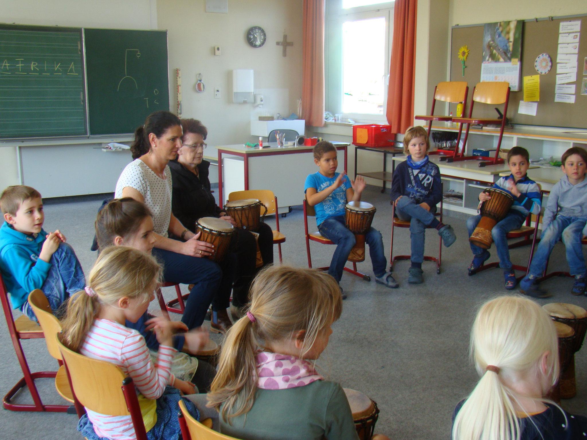 Musikprojekt der Grundschule Sonthofen-Rieden