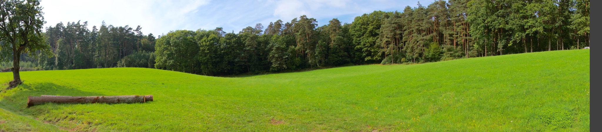 Nördlich von Bad Windsheim