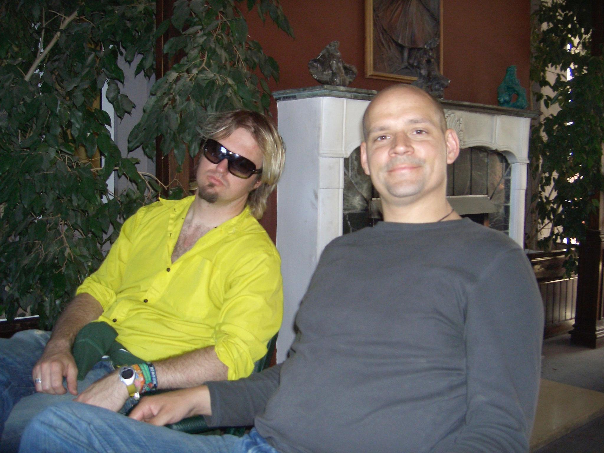 Antoine und Steffen in Monterosa
