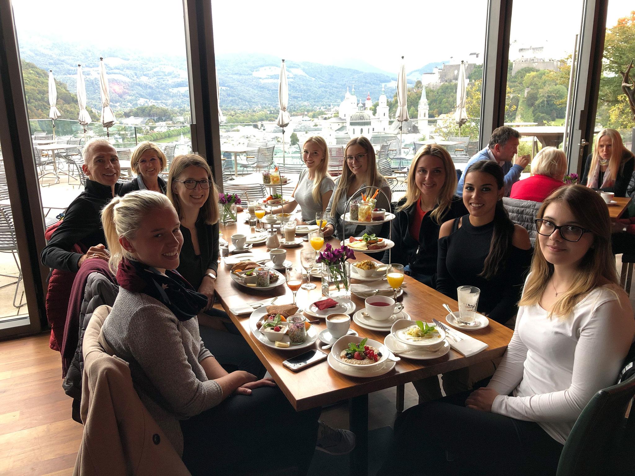 Frühstück im M32 in Salzburg