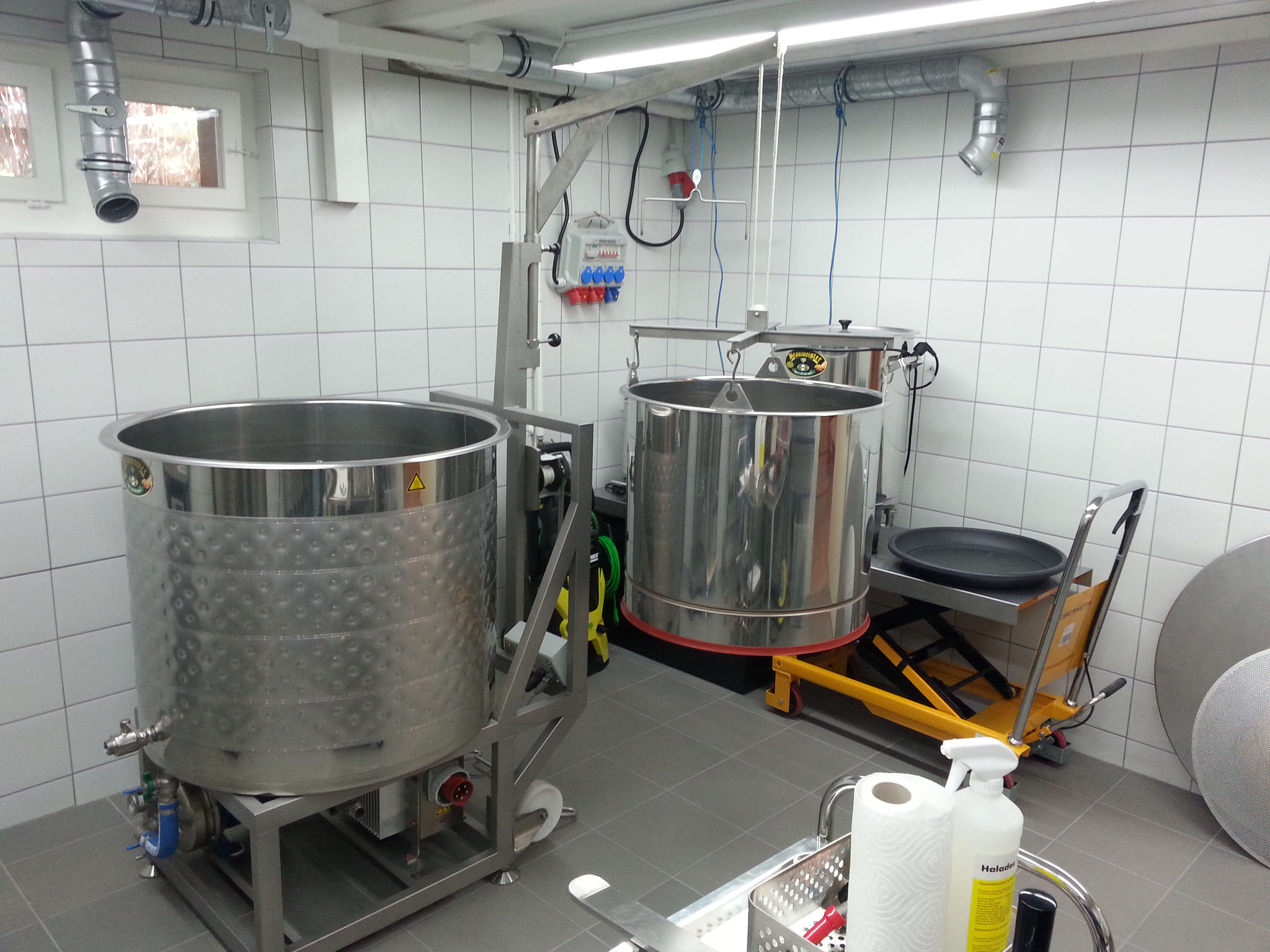 250 Liter Sudwerk