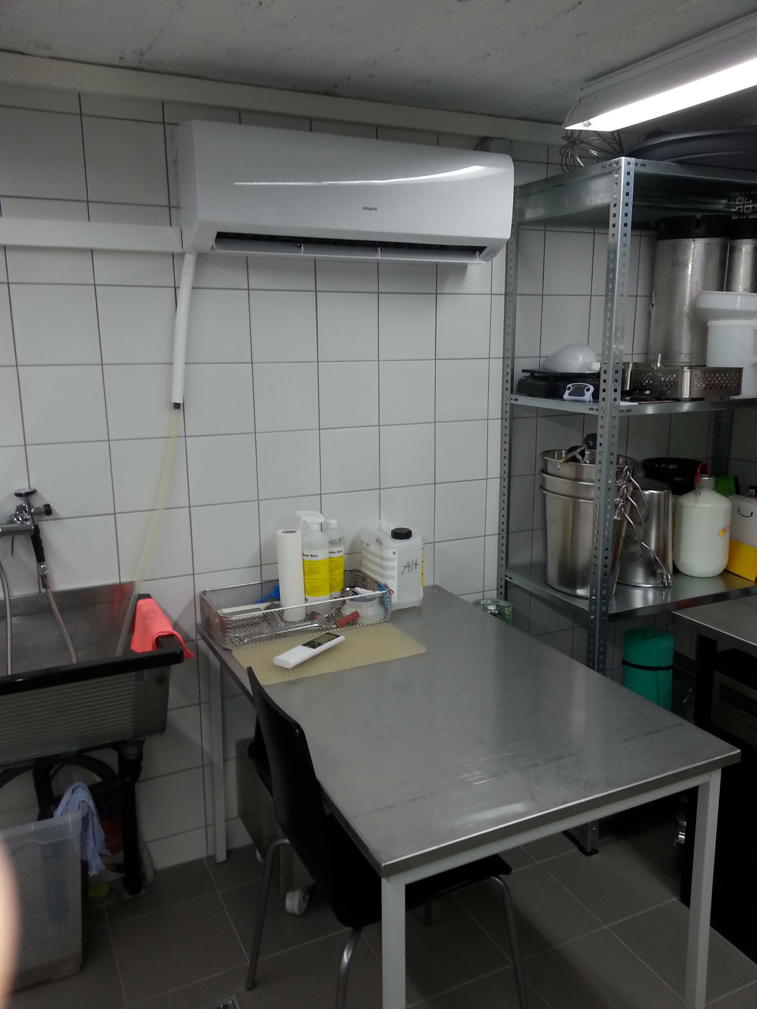 Klimaanlage der Brauerei